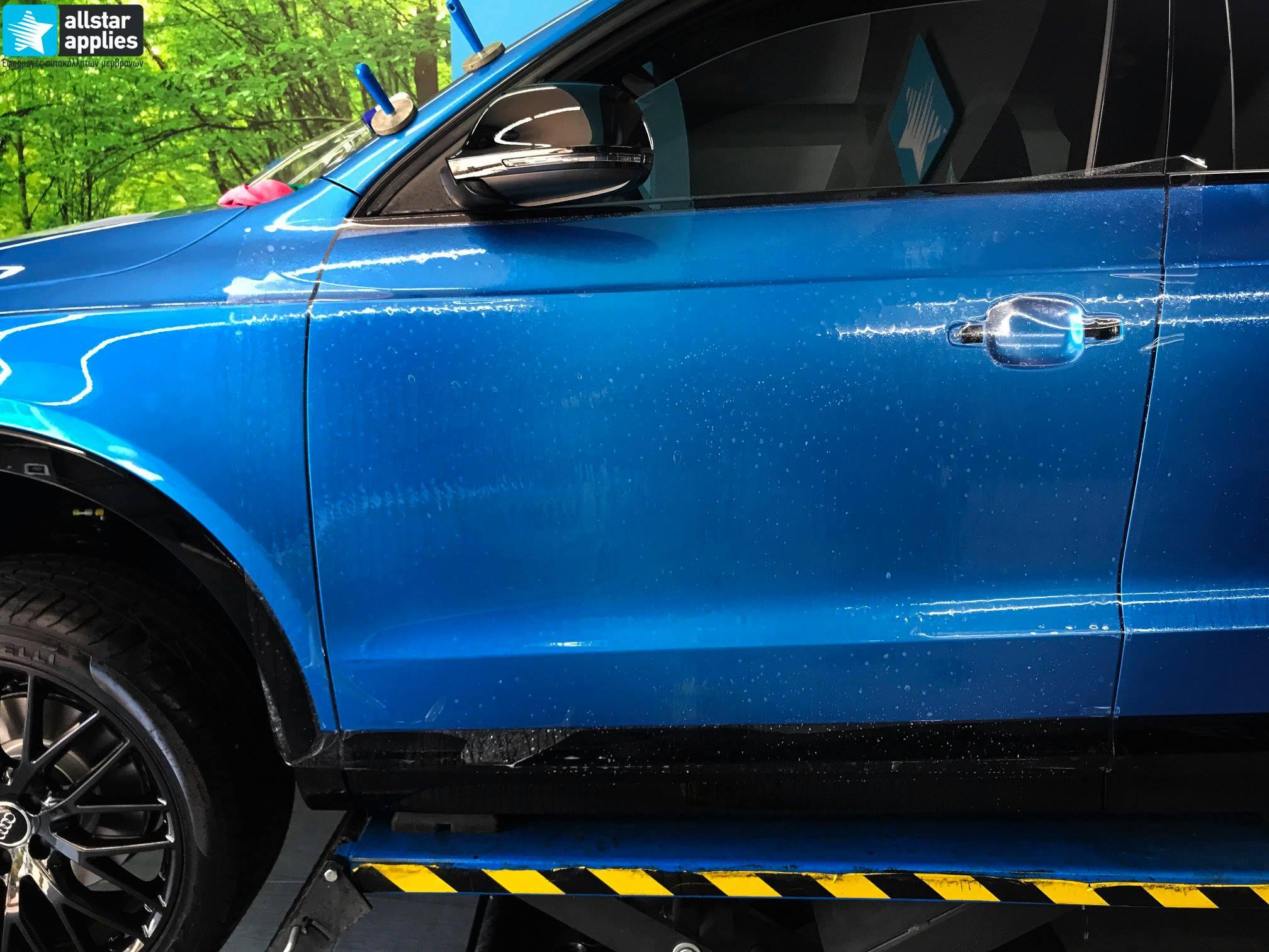 Audi Q3 – Μεμβράνες προστασίας χρώματος (Full Paint Protection Film) (11)