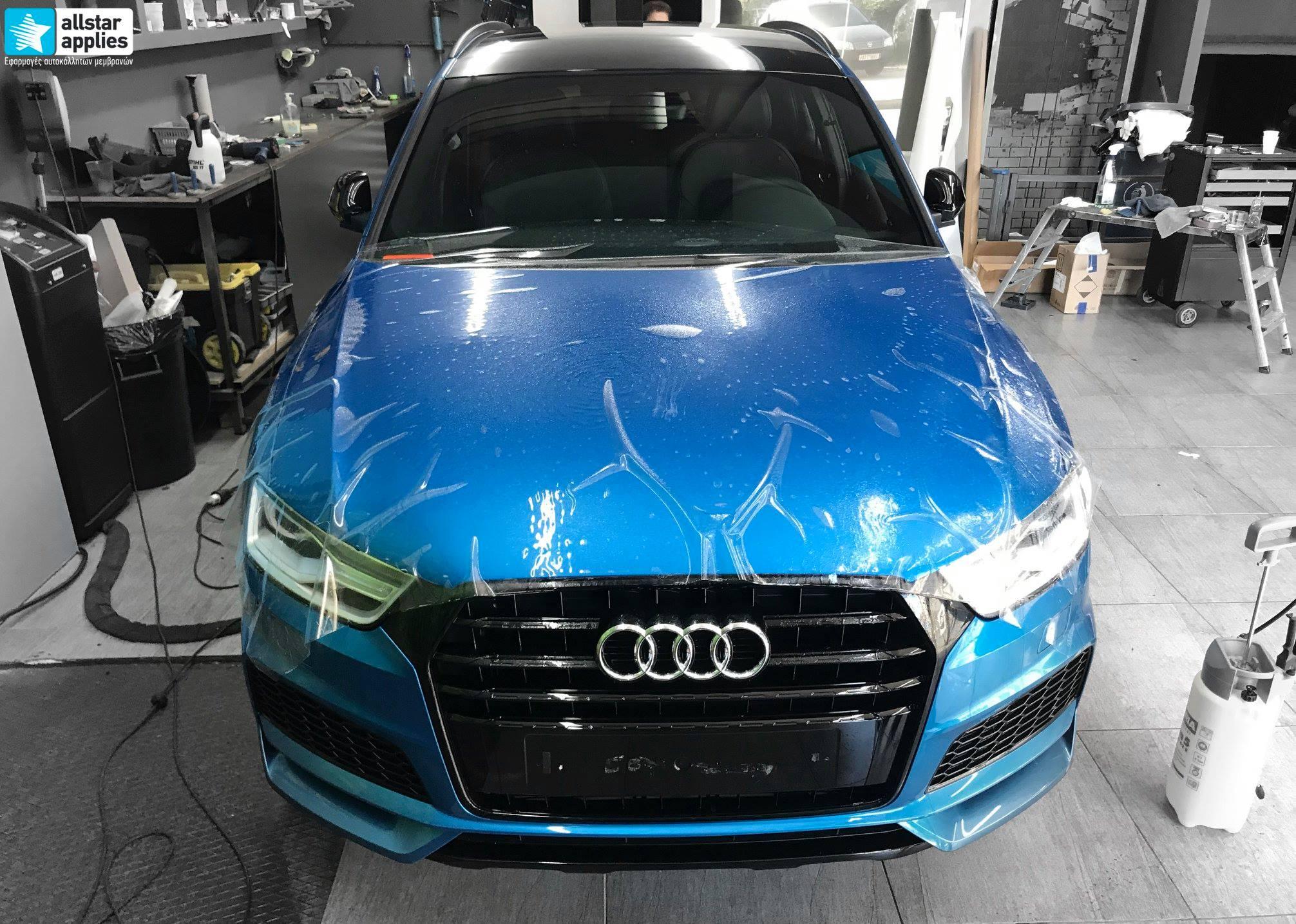 Audi Q3 – Μεμβράνες προστασίας χρώματος (Full Paint Protection Film) (12)