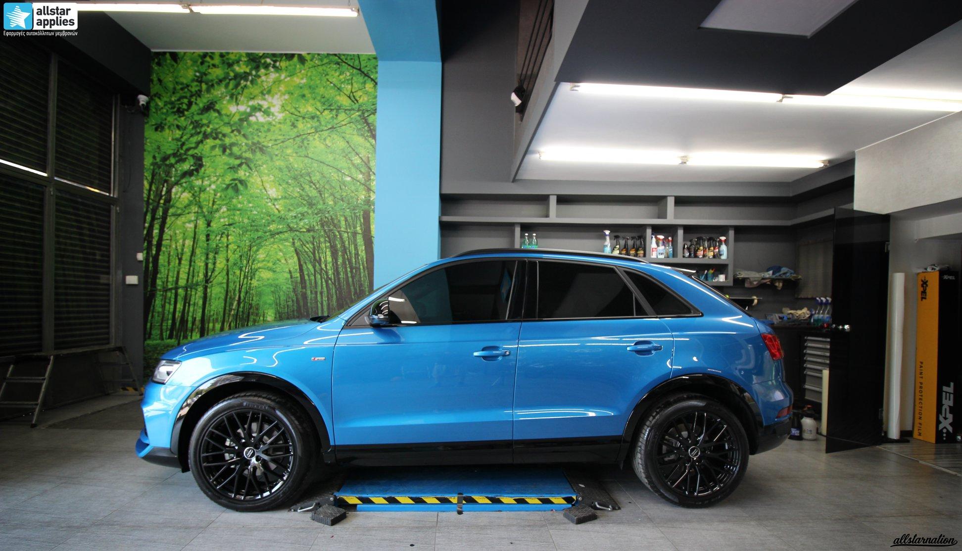 Μεμβράνες προστασίας χρώματος αυτοκινήτου Audi Θεσσαλονίκη