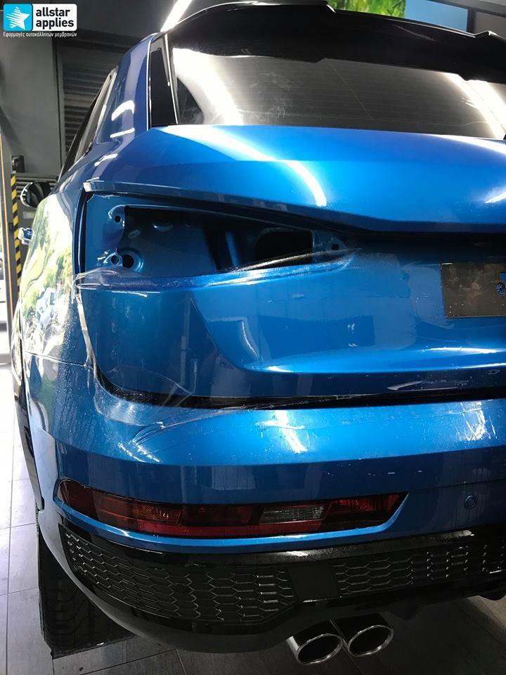 Audi Q3 – Μεμβράνες προστασίας χρώματος (Full Paint Protection Film) (6)