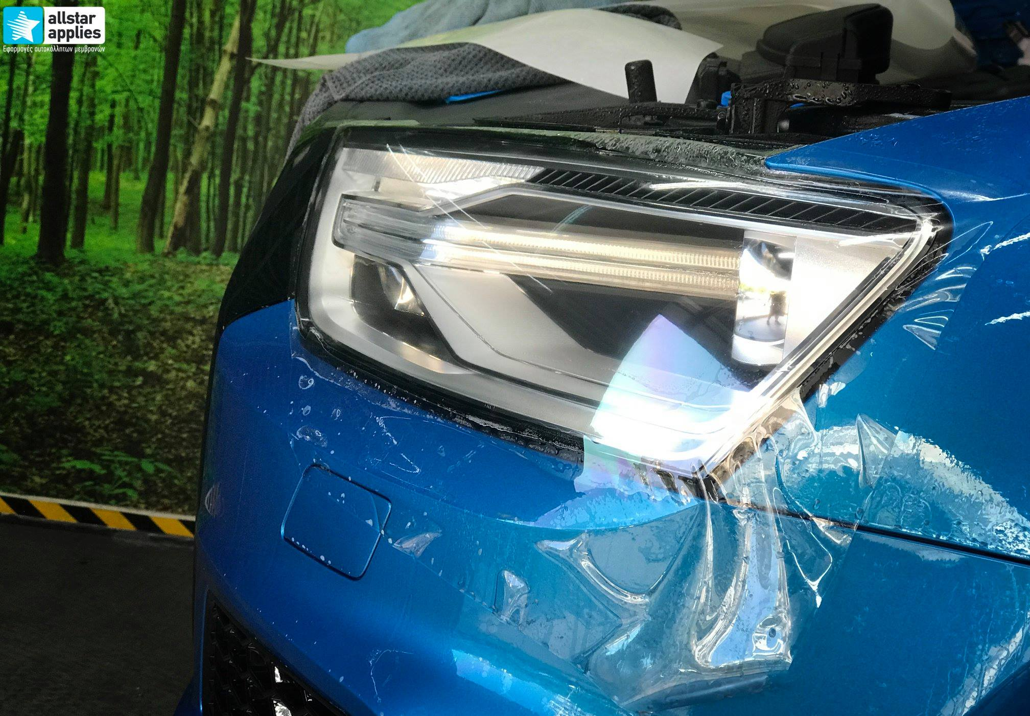 Audi Q3 – Μεμβράνες προστασίας χρώματος (Full Paint Protection Film) (7)