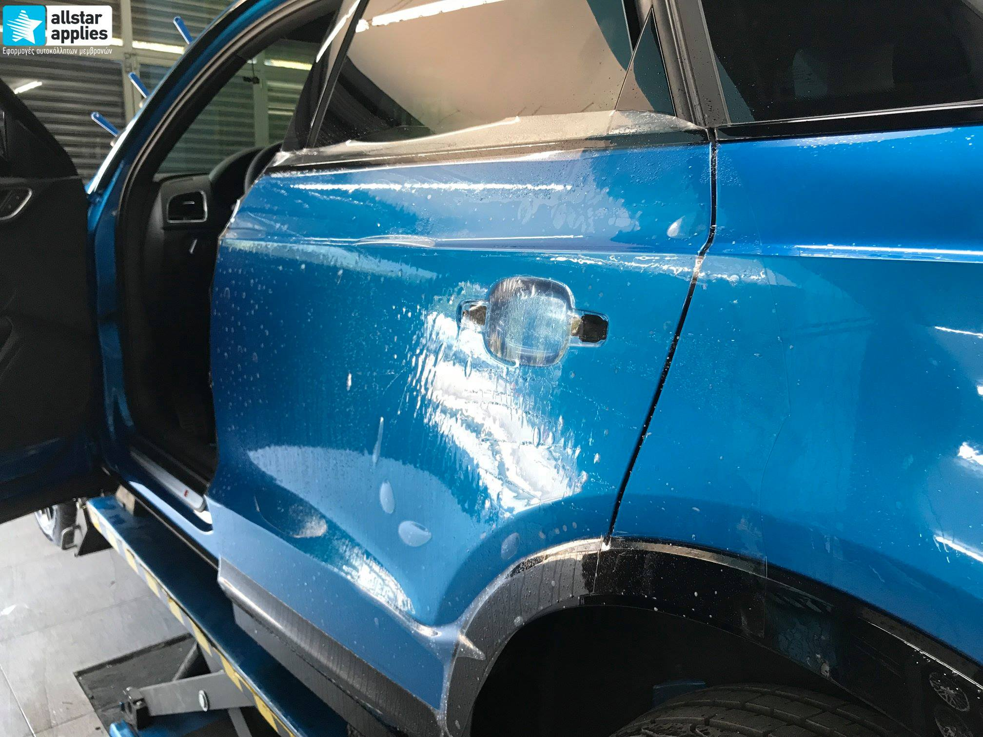 Audi Q3 – Μεμβράνες προστασίας χρώματος (Full Paint Protection Film) (9)