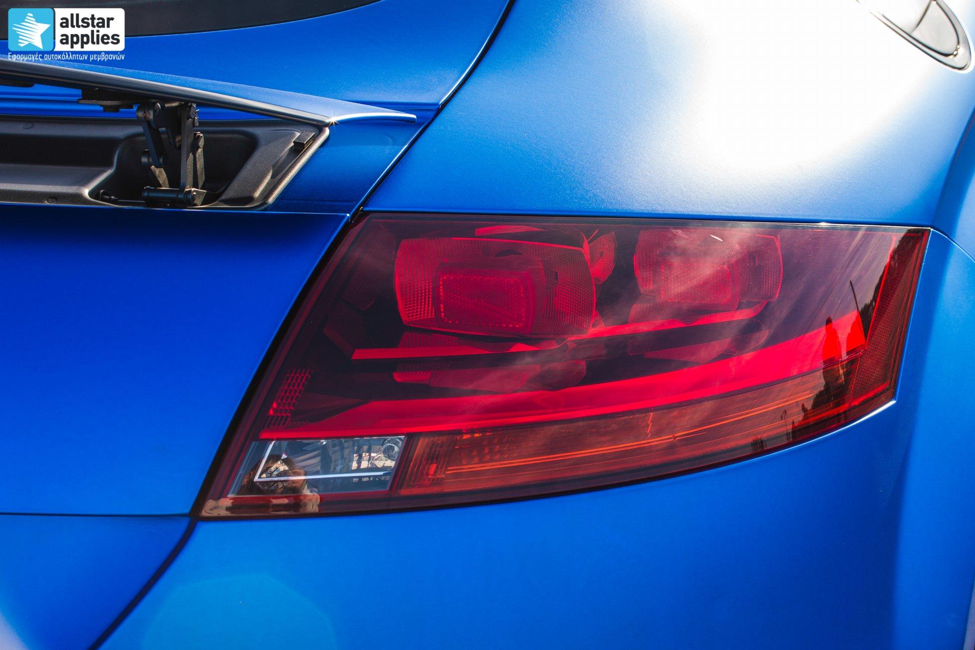 Audi TT - Matte Iced Blue + Ispiri Wheels FFR1 Matte (3)