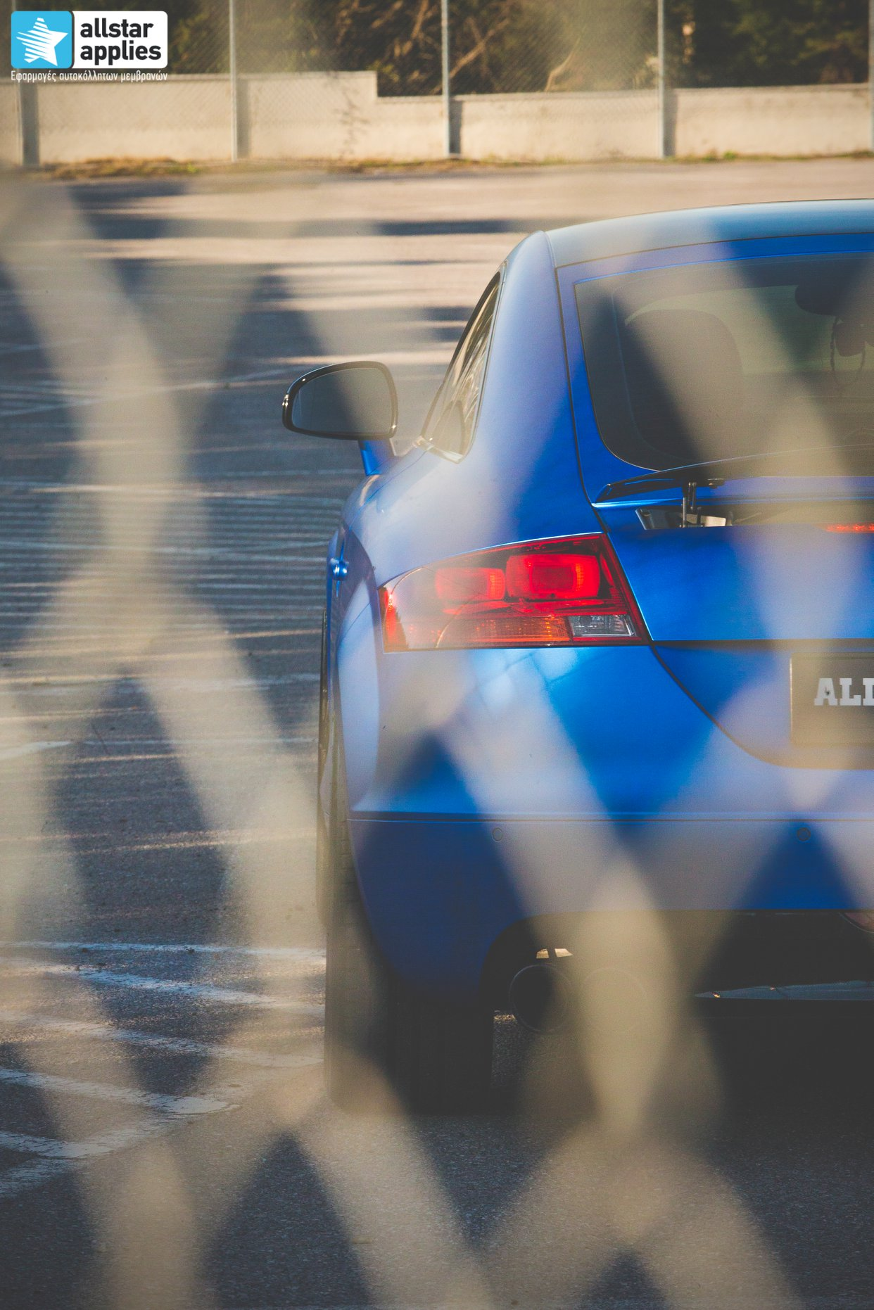 Audi TT - Matte Iced Blue + Ispiri Wheels FFR1 Matte (7)