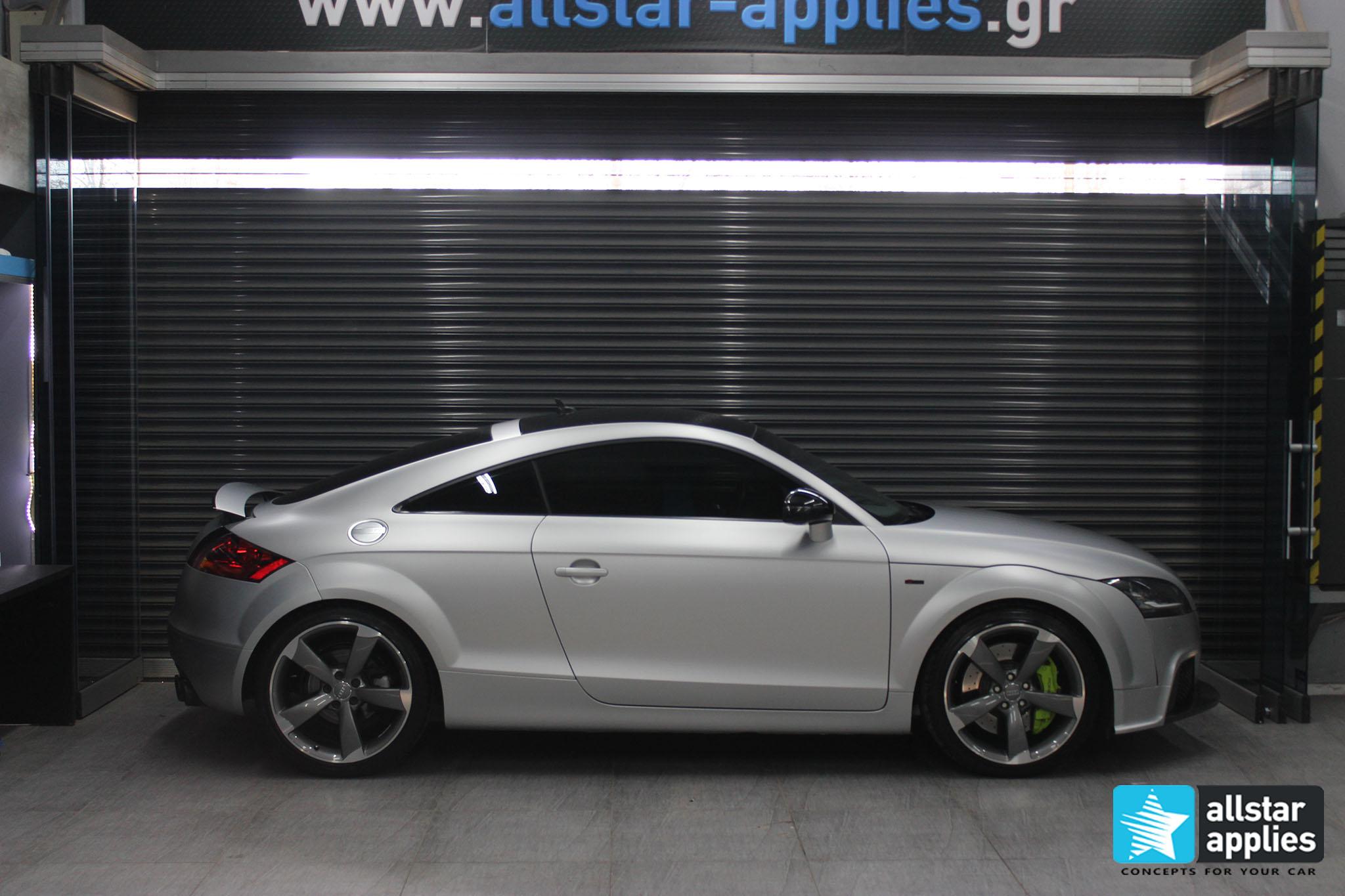 Audi TT - Satin Aluminium (1)