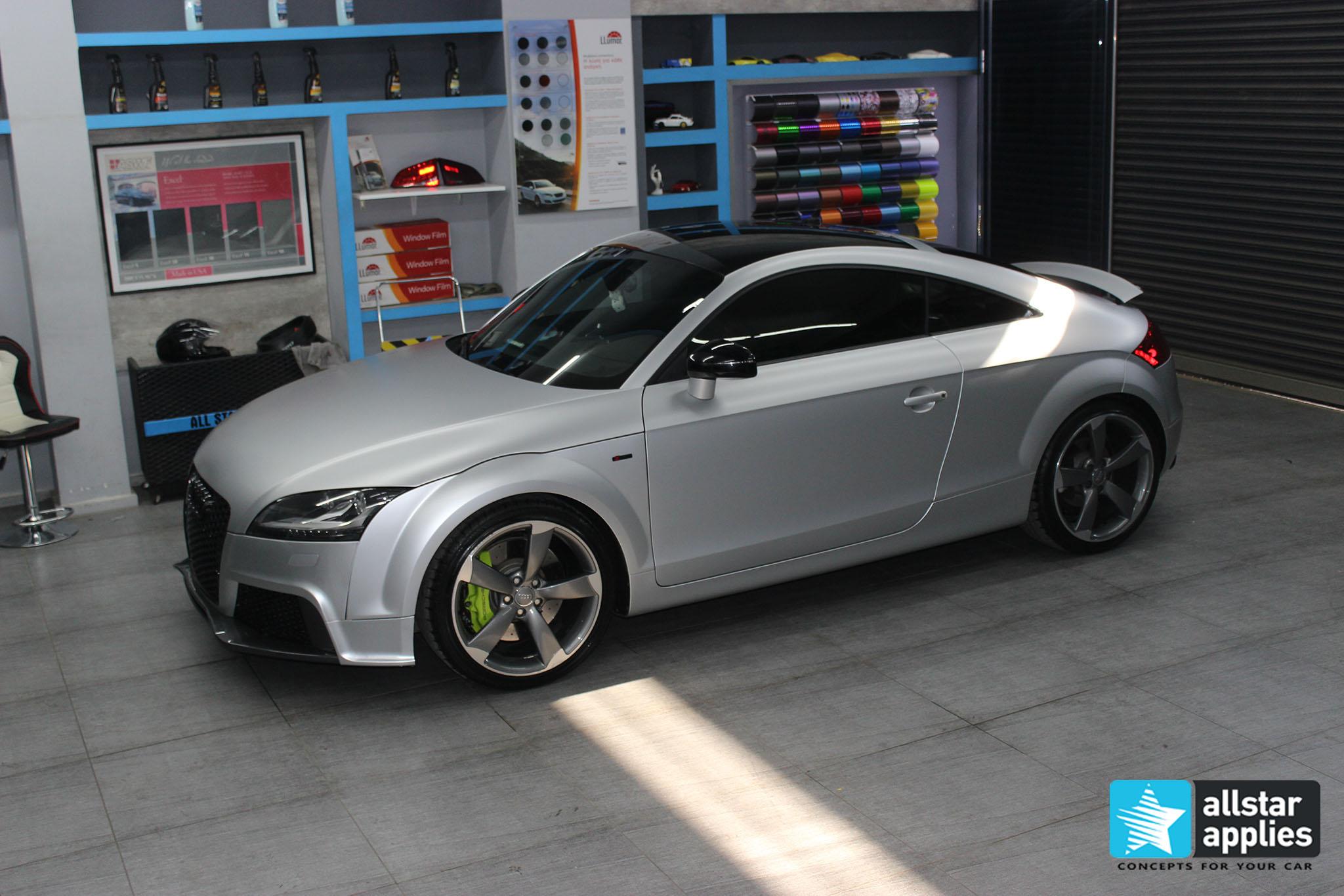 Audi TT - Satin Aluminium (12)