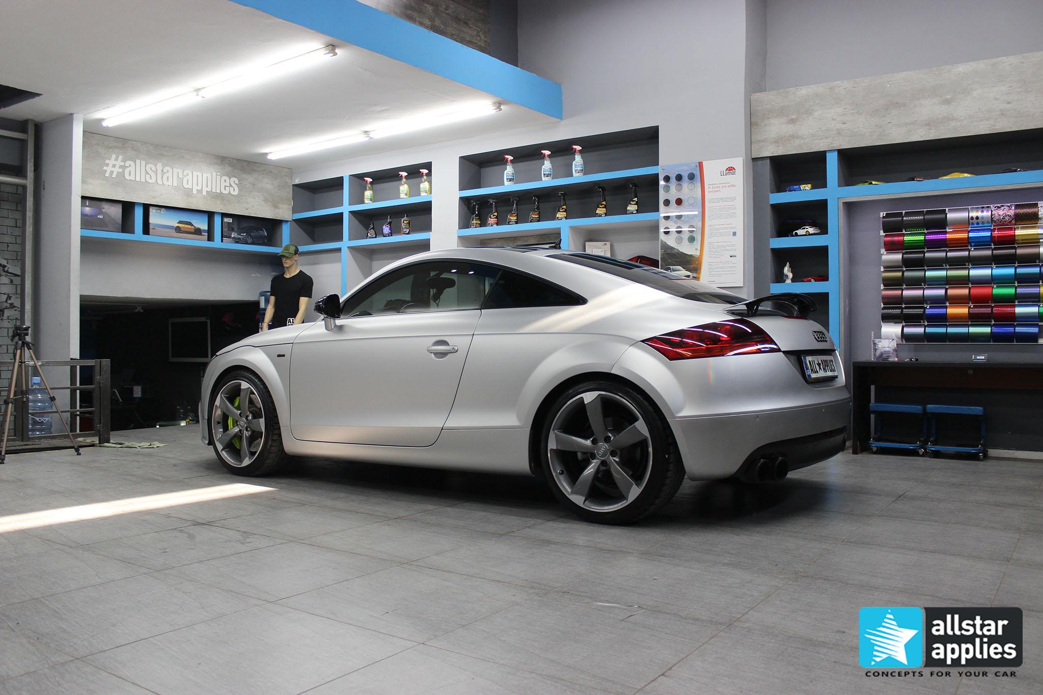 Audi TT - Satin Aluminium (13)