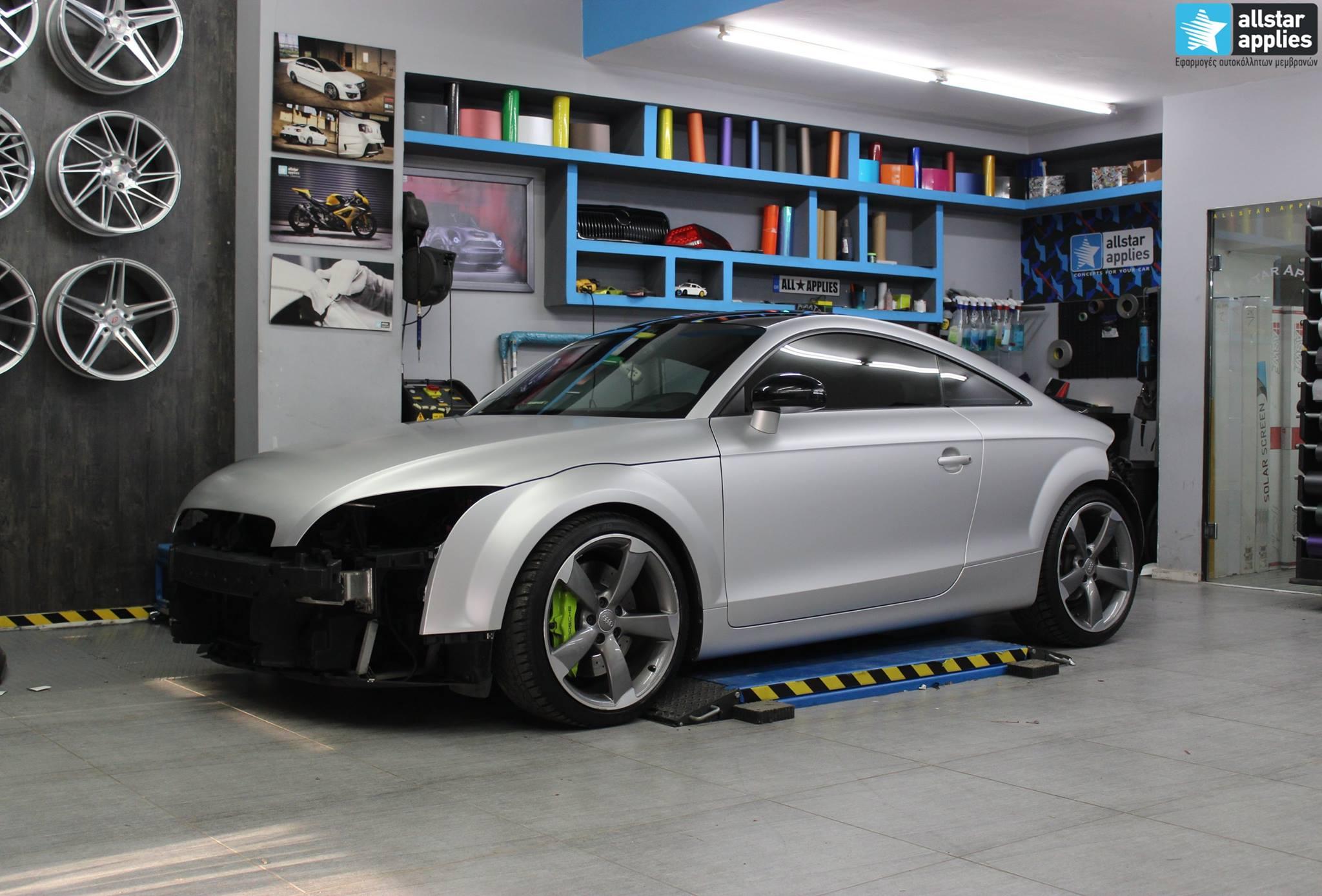 Audi TT - Satin Aluminium (18)