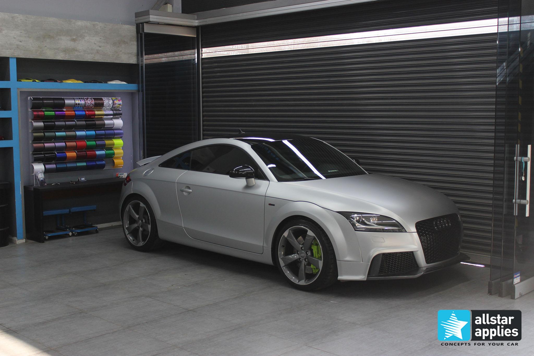 Audi TT - Satin Aluminium (2)