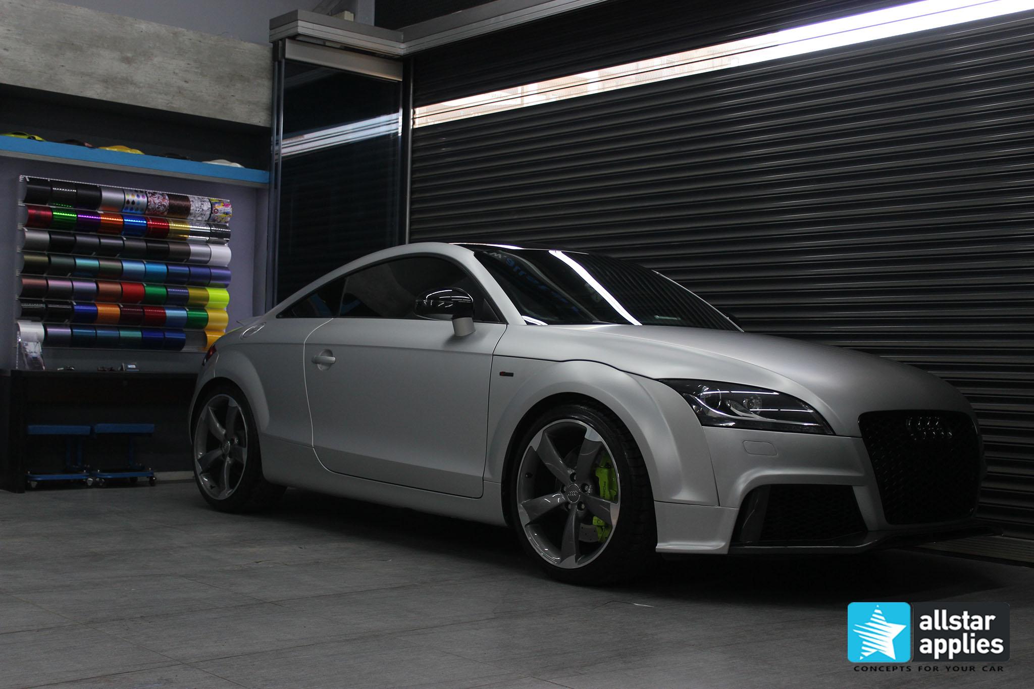 Audi TT - Satin Aluminium (3)
