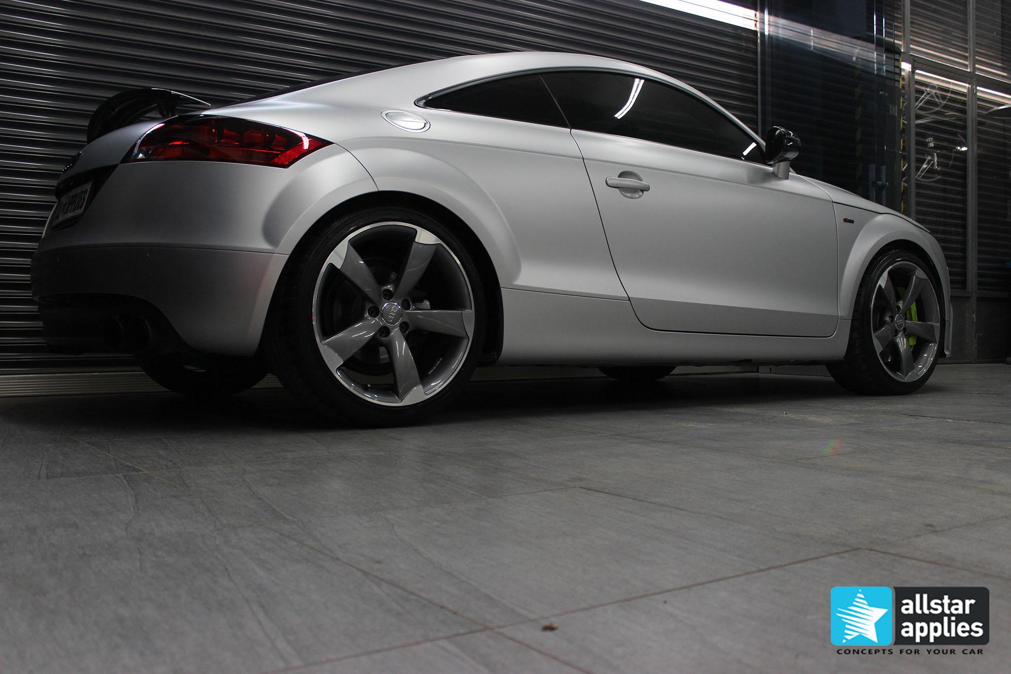 Audi TT - Satin Aluminium (4)