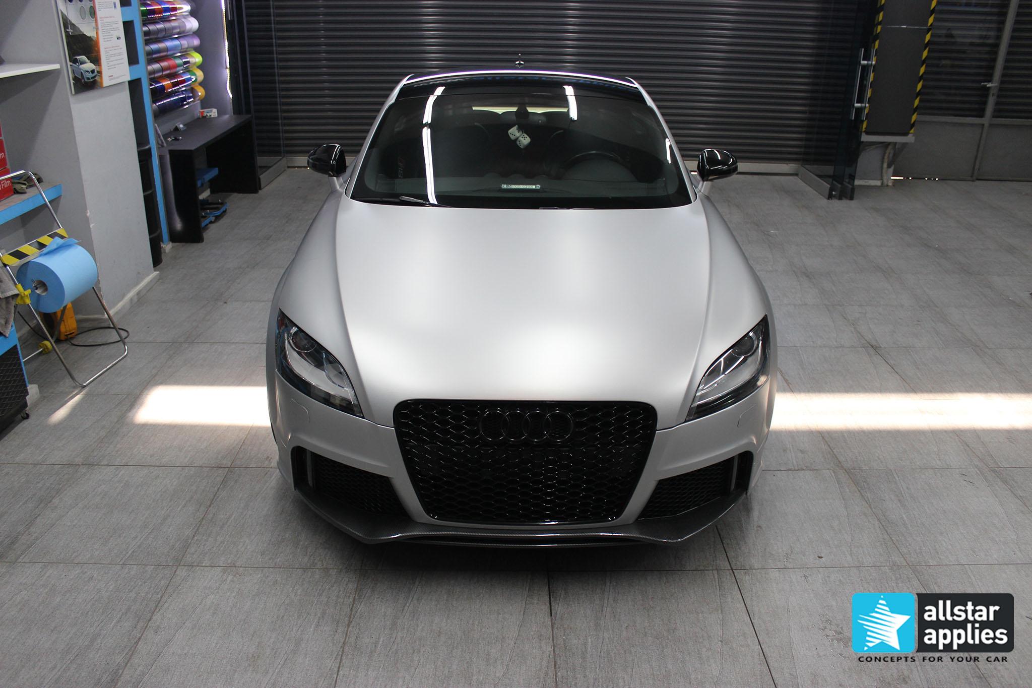 Audi TT - Satin Aluminium (8)