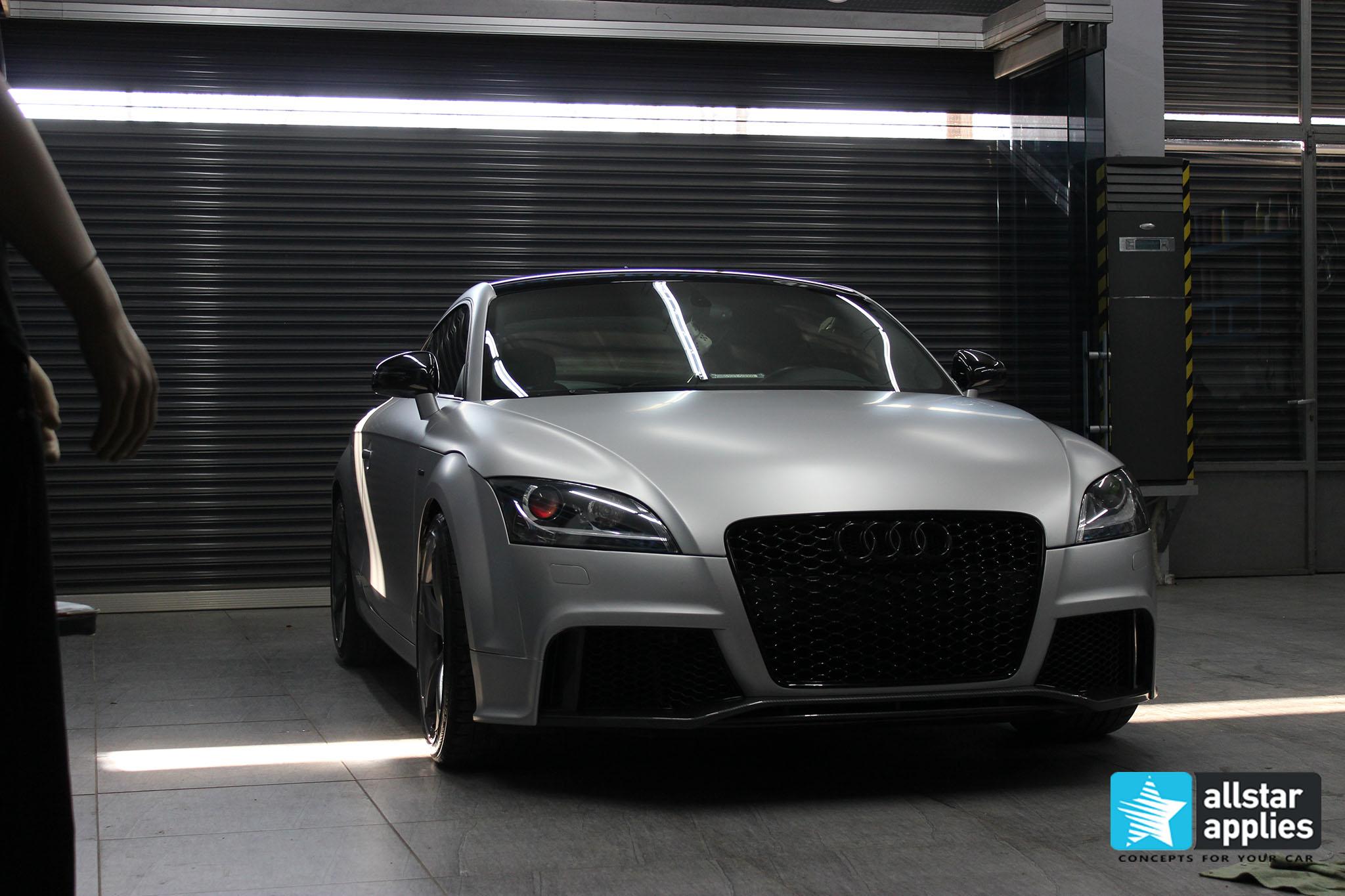Audi TT - Satin Aluminium (9)