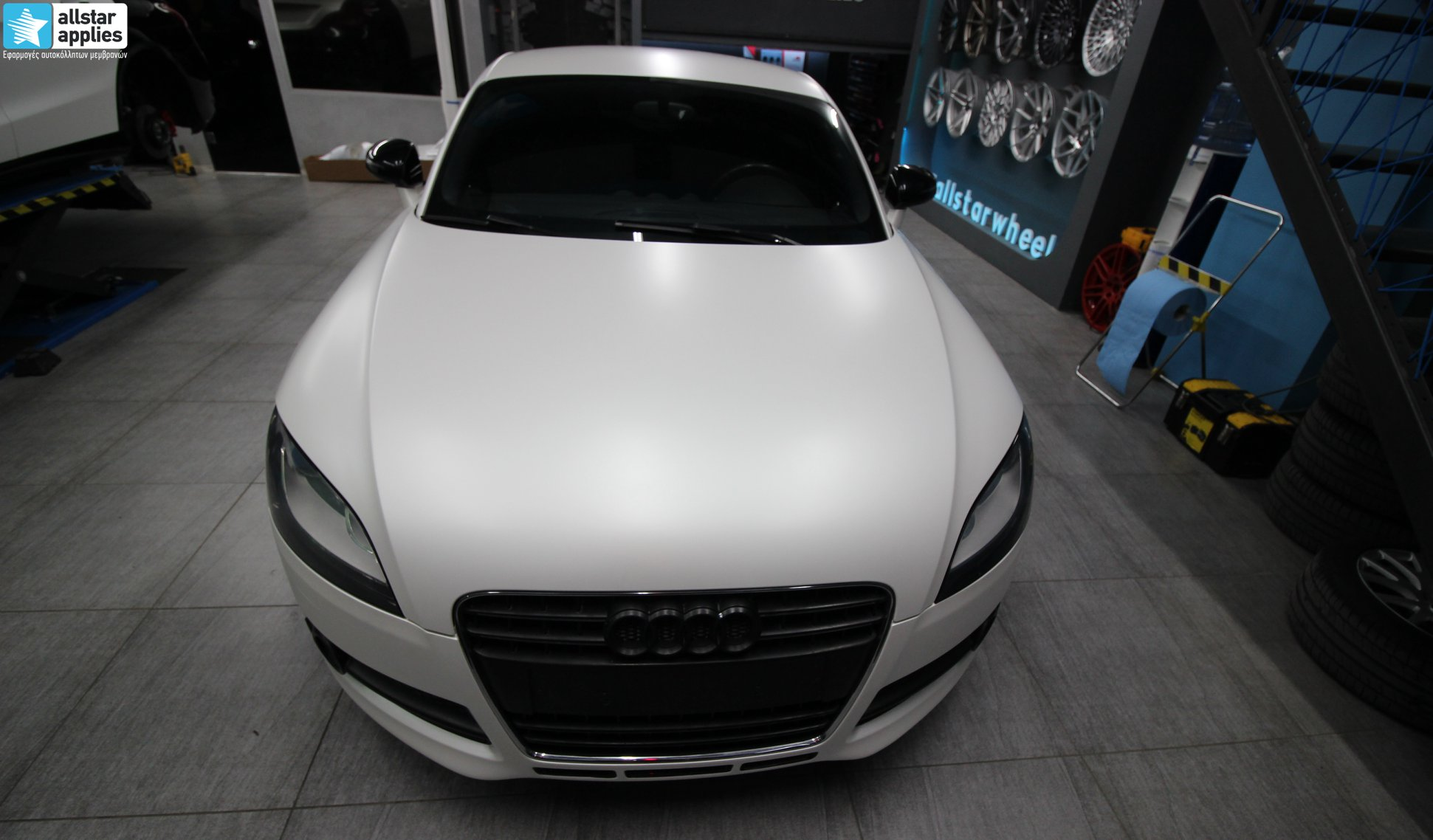 Audi TT - Satin Pearl white + Veemann Wheels VC7 (3)