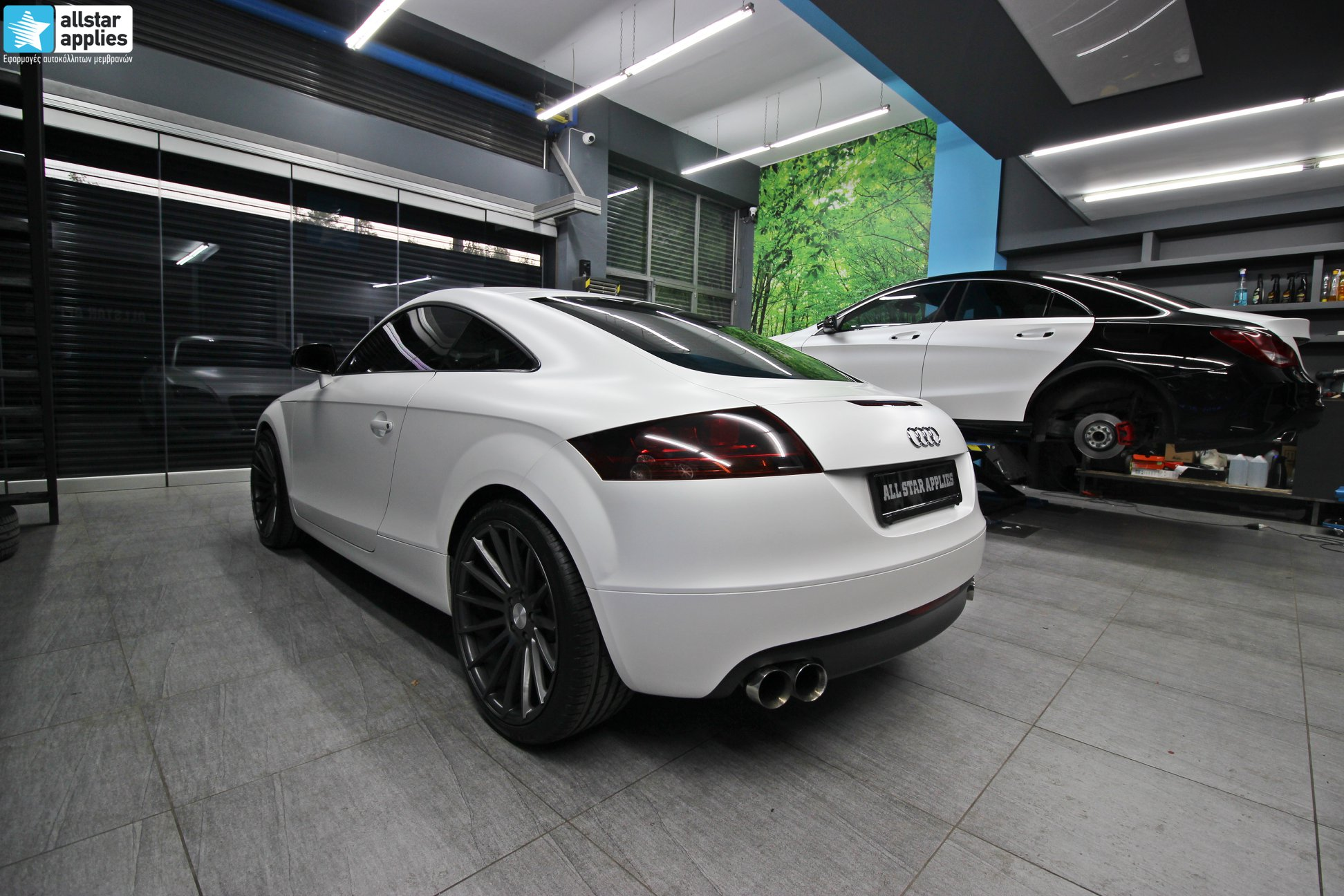Audi TT - Satin Pearl white + Veemann Wheels VC7 (4)