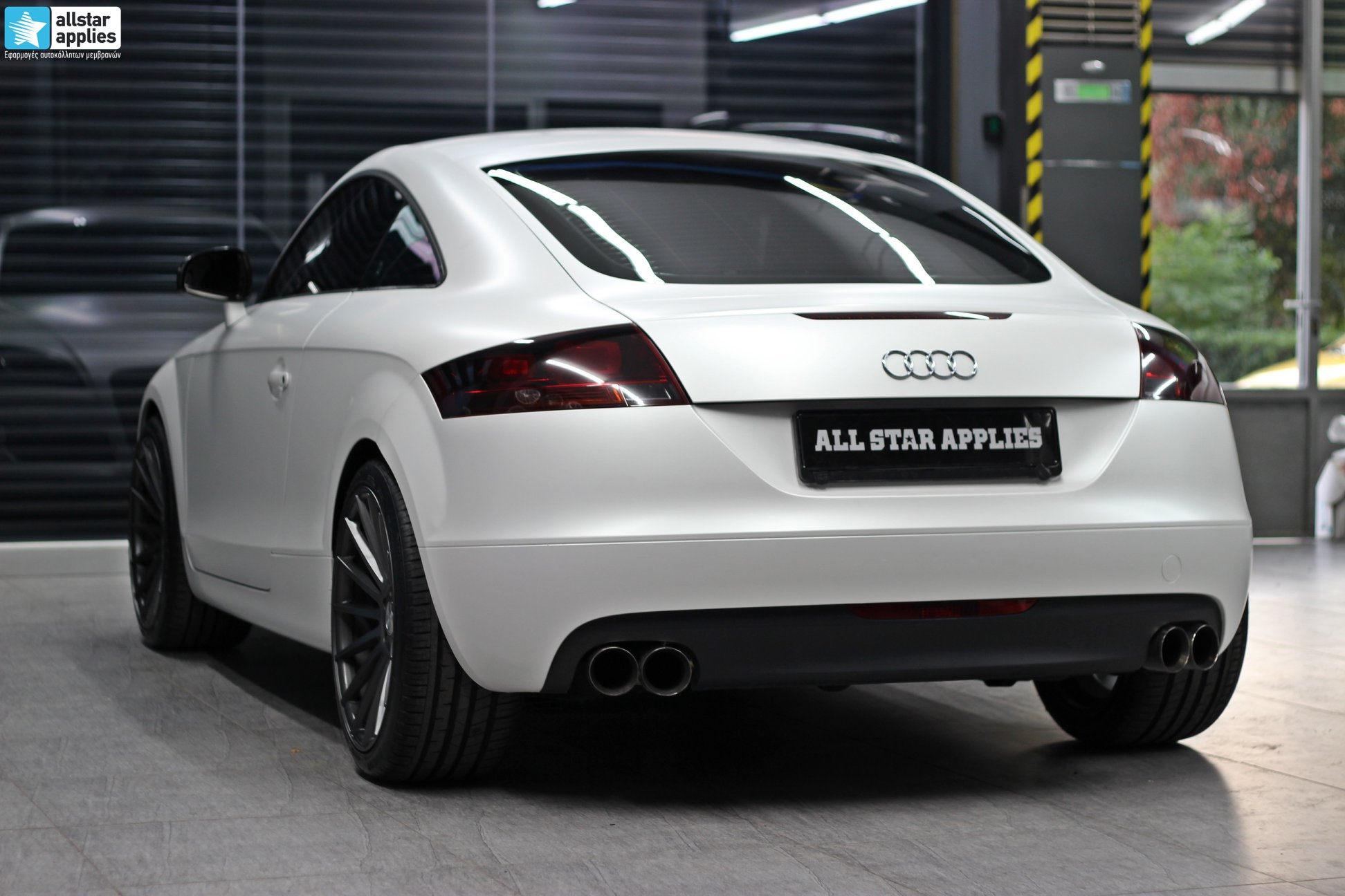 Audi TT - Satin Pearl white + Veemann Wheels VC7 (5)