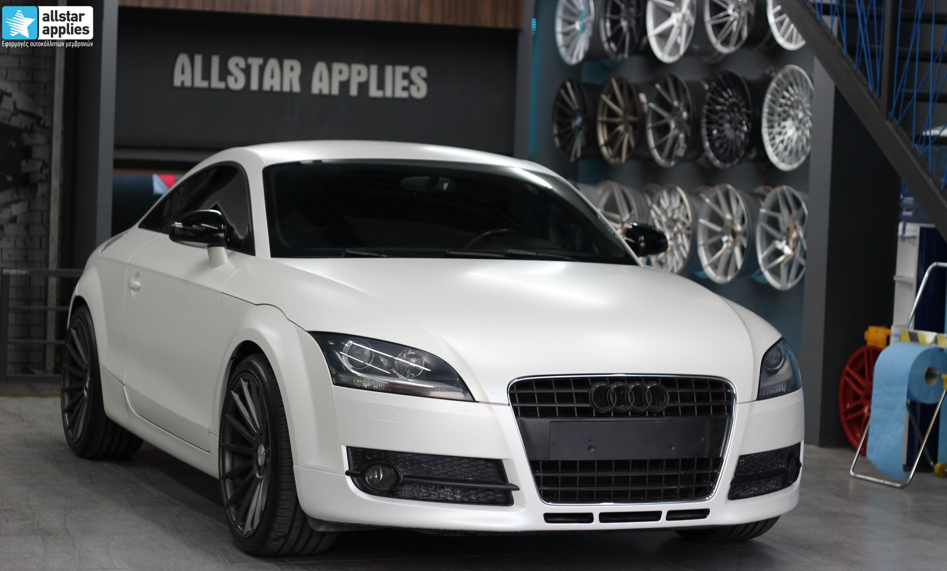 Audi TT - Satin Pearl white + Veemann Wheels VC7 (7)