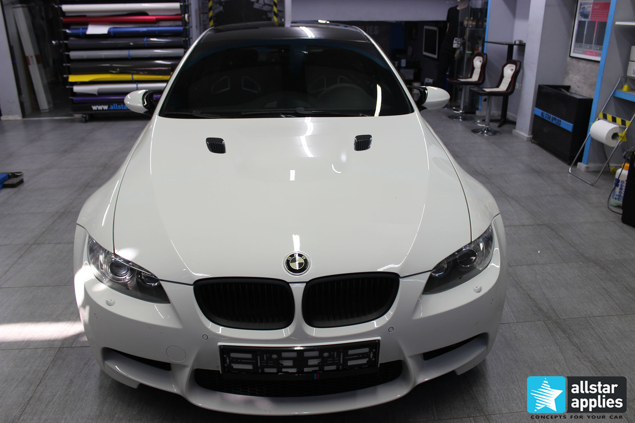 BMW M3 - Satin Pearl White (1)