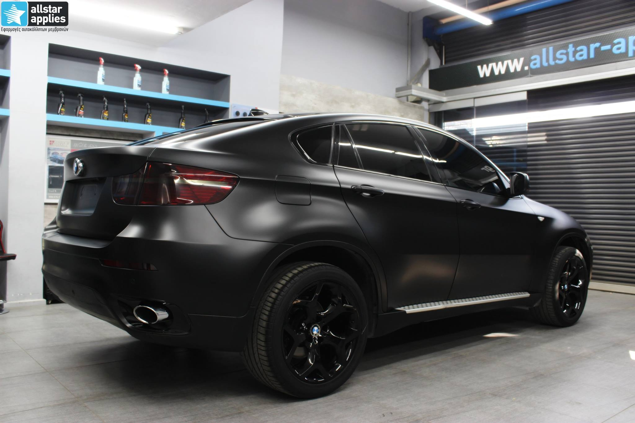 Bmw X6 - Satin Black Matte (1)