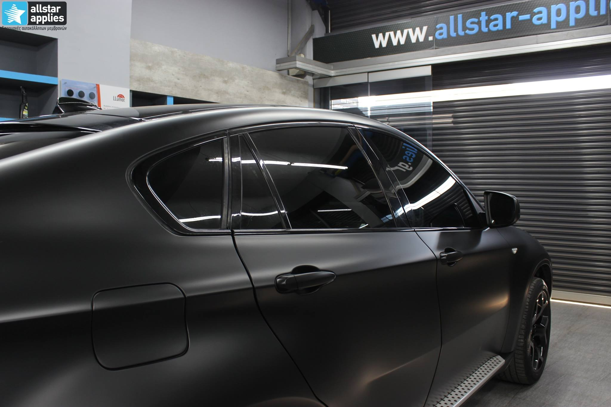 Bmw X6 - Satin Black Matte (10)