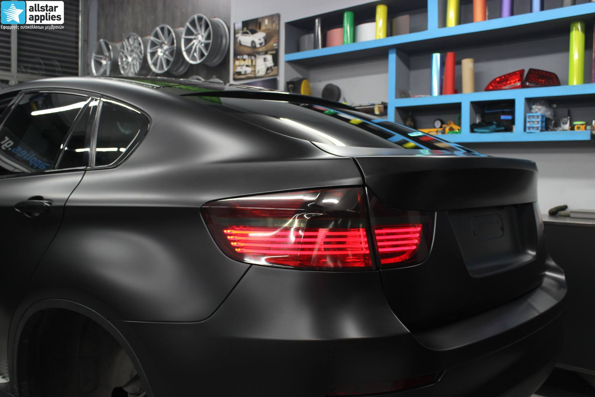 Bmw X6 - Satin Black Matte (11)