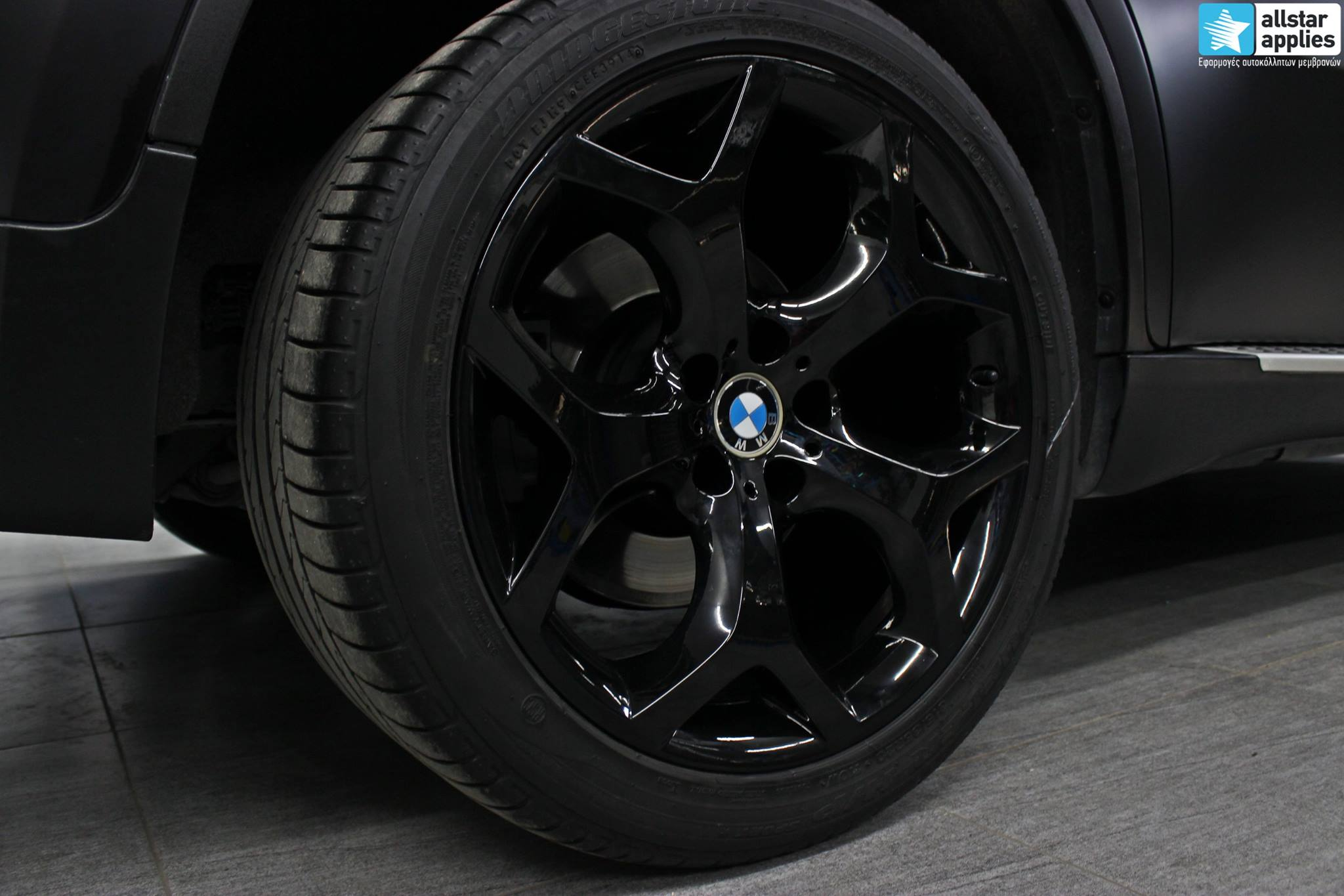 Bmw X6 - Satin Black Matte (14)