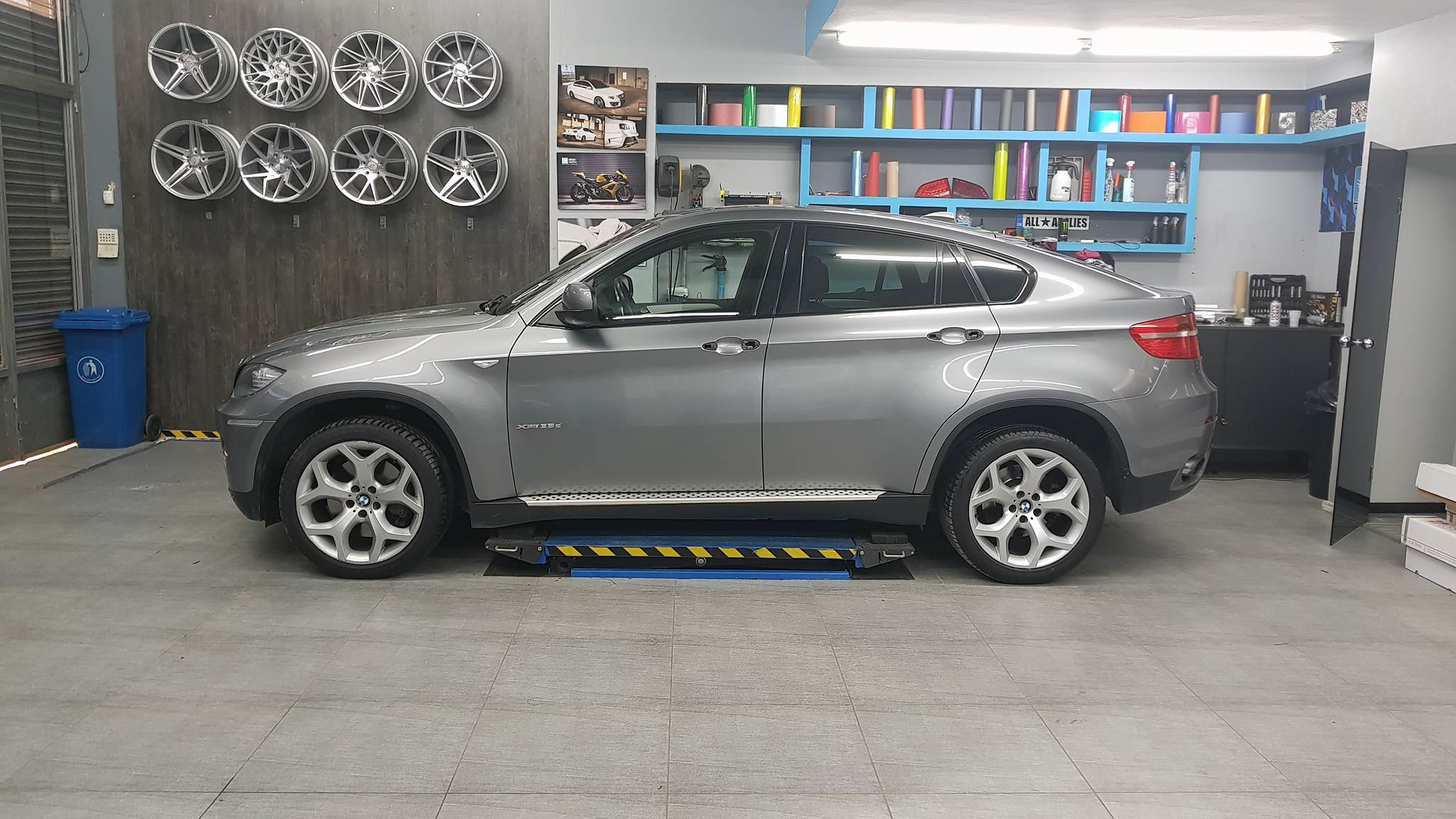 Bmw X6 - Satin Black Matte (16)