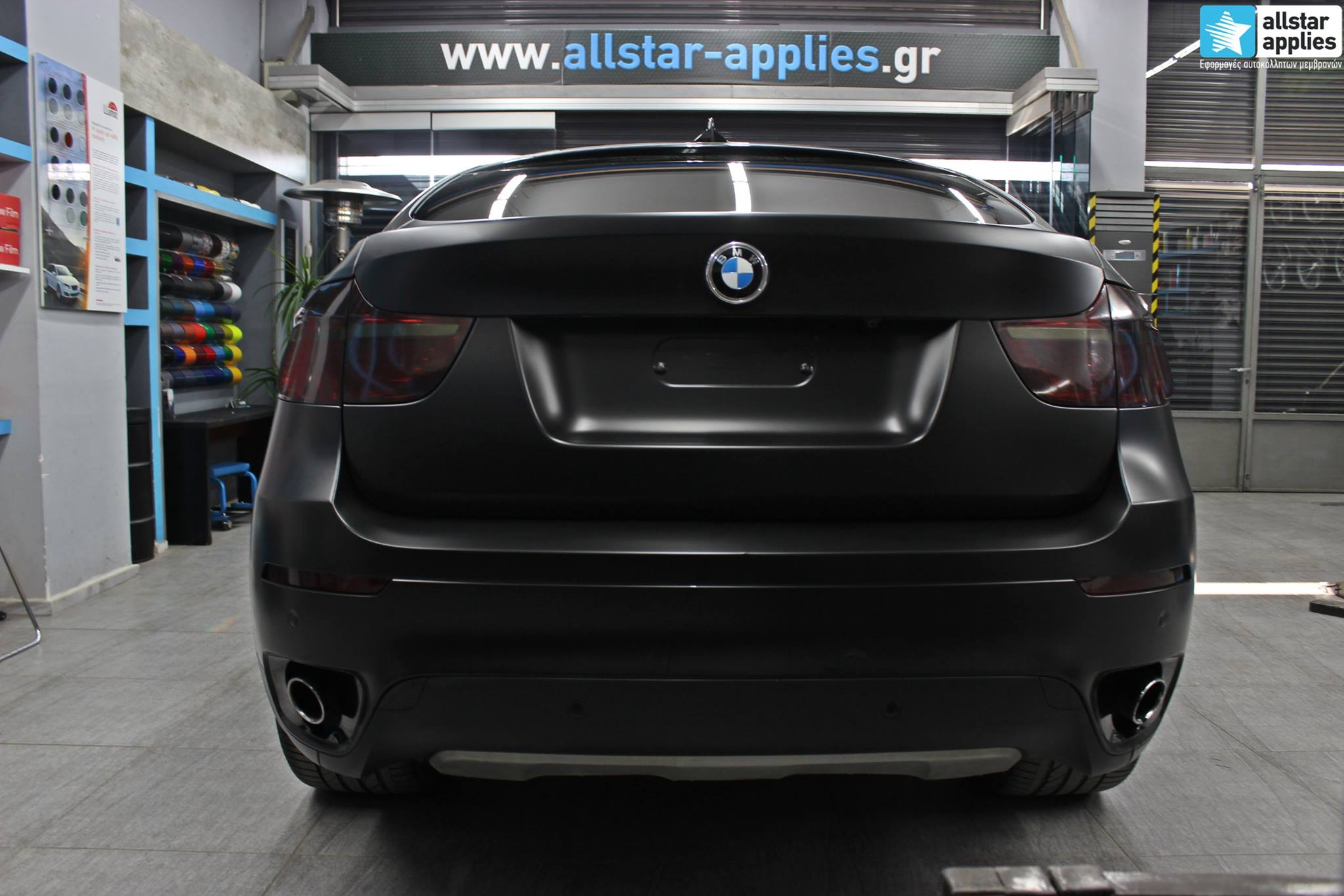 Bmw X6 - Satin Black Matte (2)