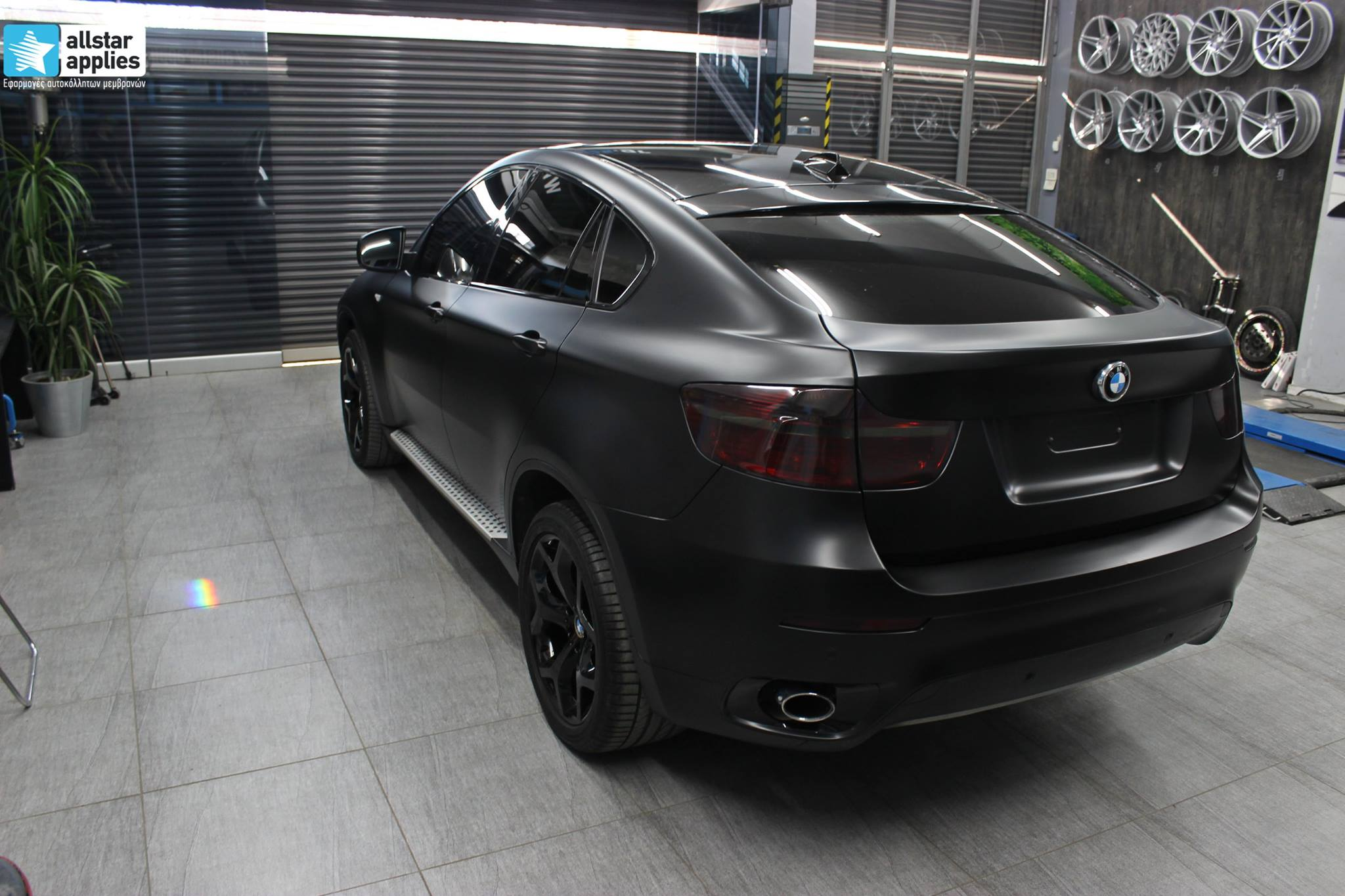 Bmw X6 - Satin Black Matte (3)