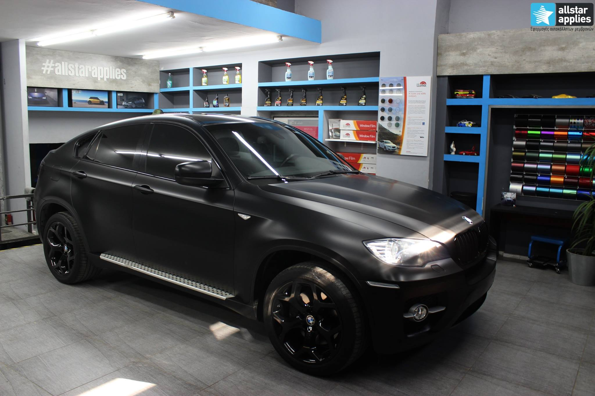Bmw X6 - Satin Black Matte (4)