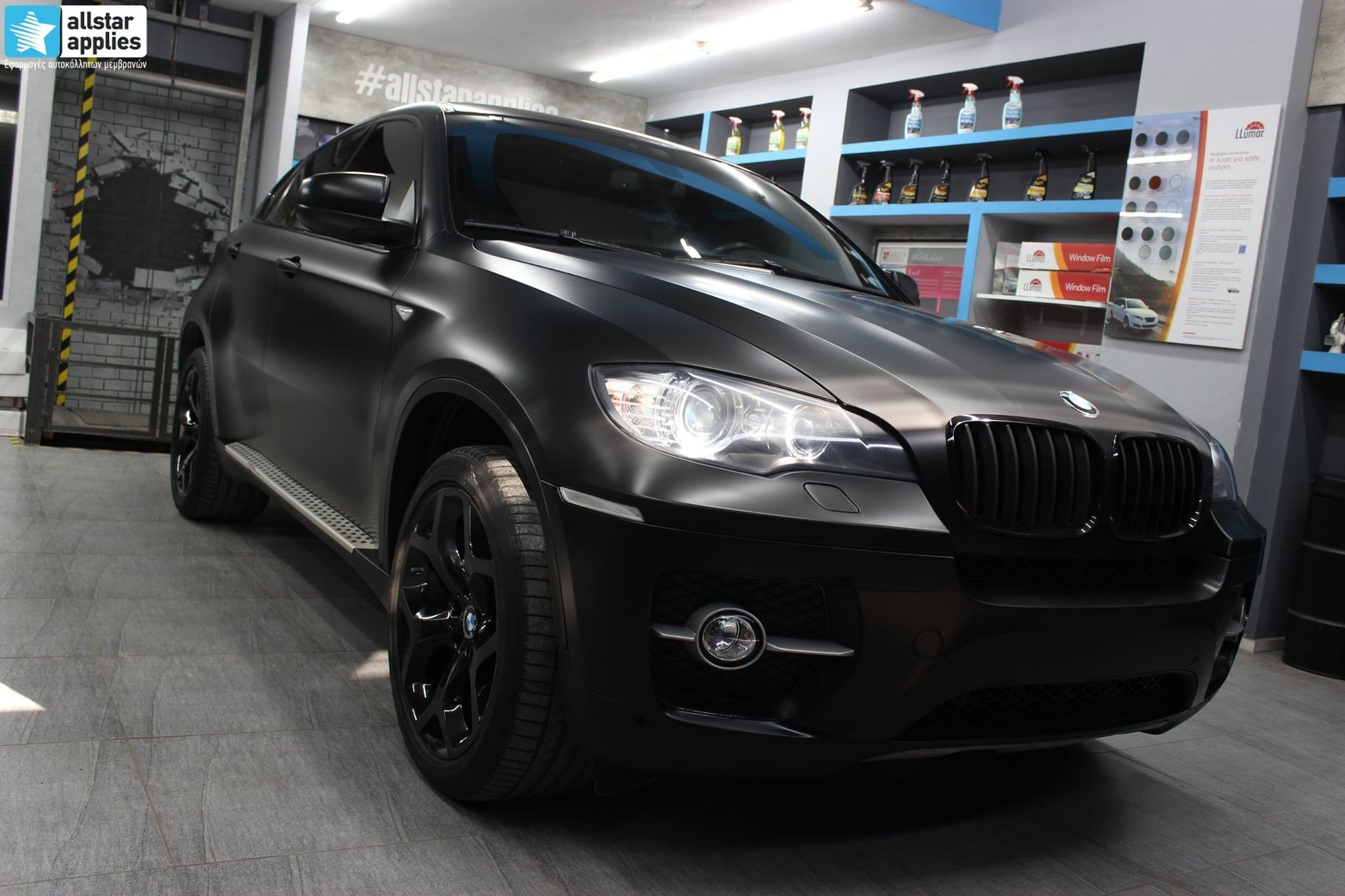 Bmw X6 - Satin Black Matte (5)