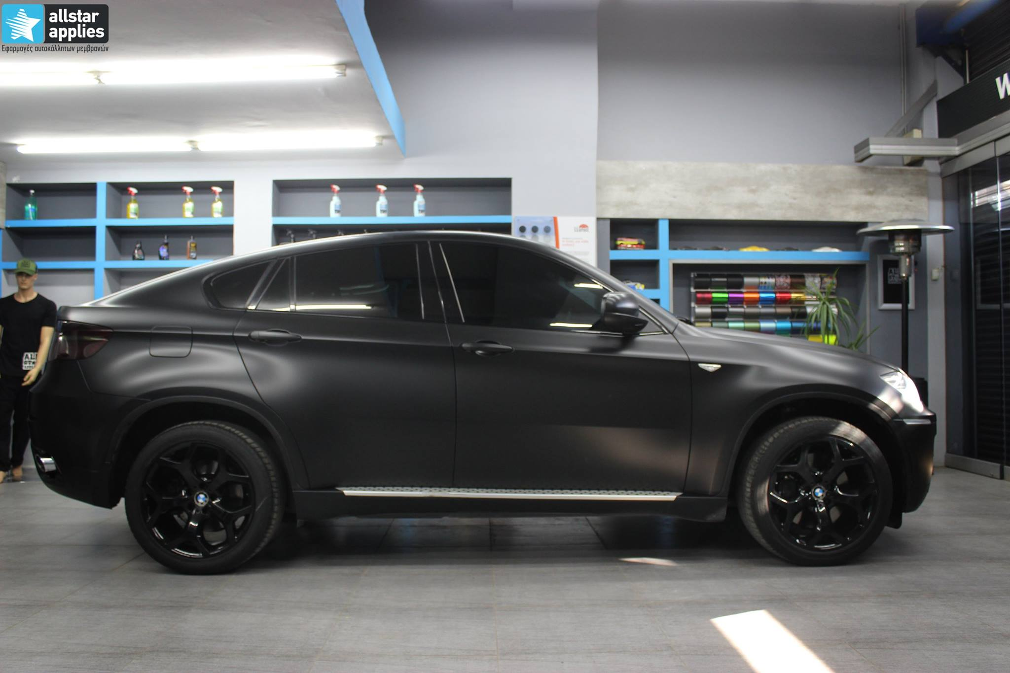 Bmw X6 - Satin Black Matte (6)