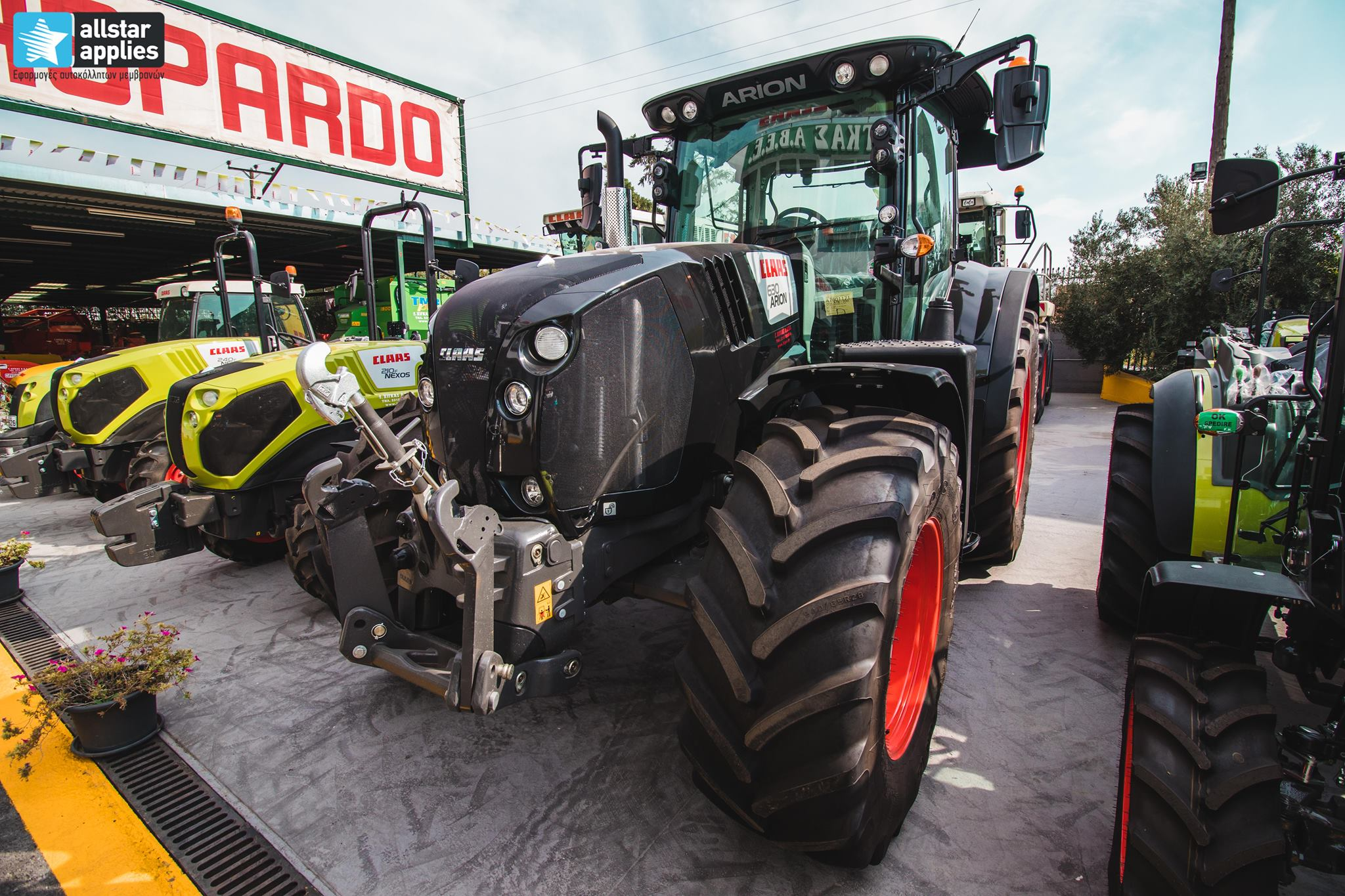 Claas Arion 650 - Black Edition (4)