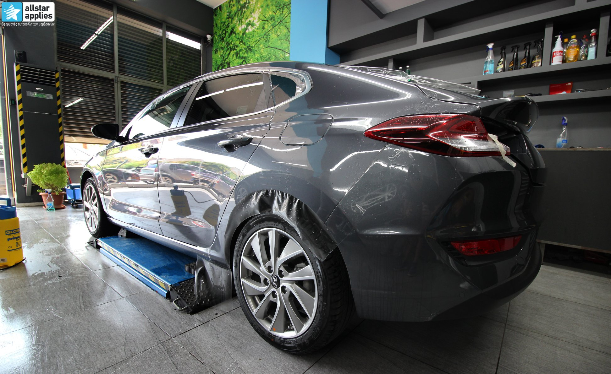 Hyundai i30 Fastback - Paint Protection Film (13)