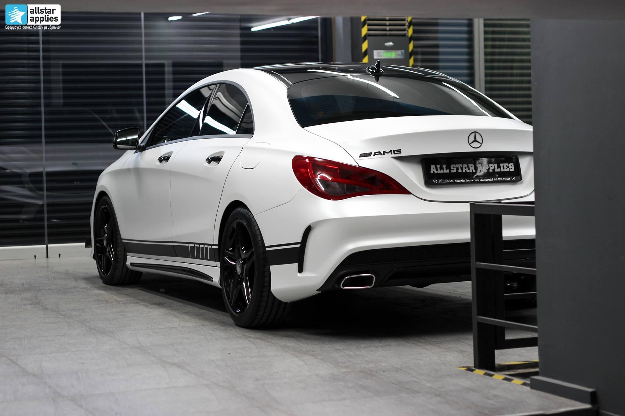 Mercedes CLA - Satin Pearl White (10)