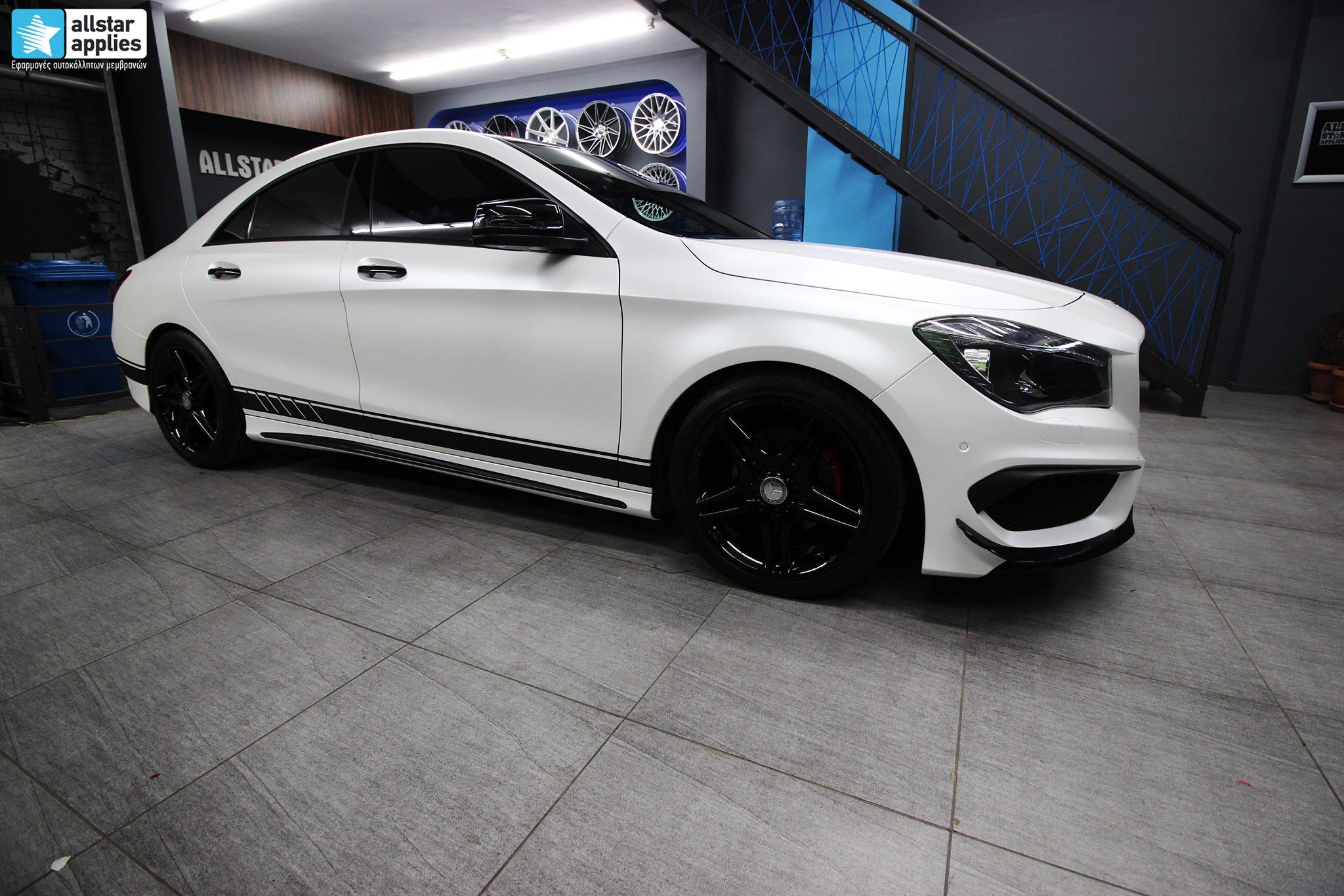 Mercedes CLA - Satin Pearl White (11)