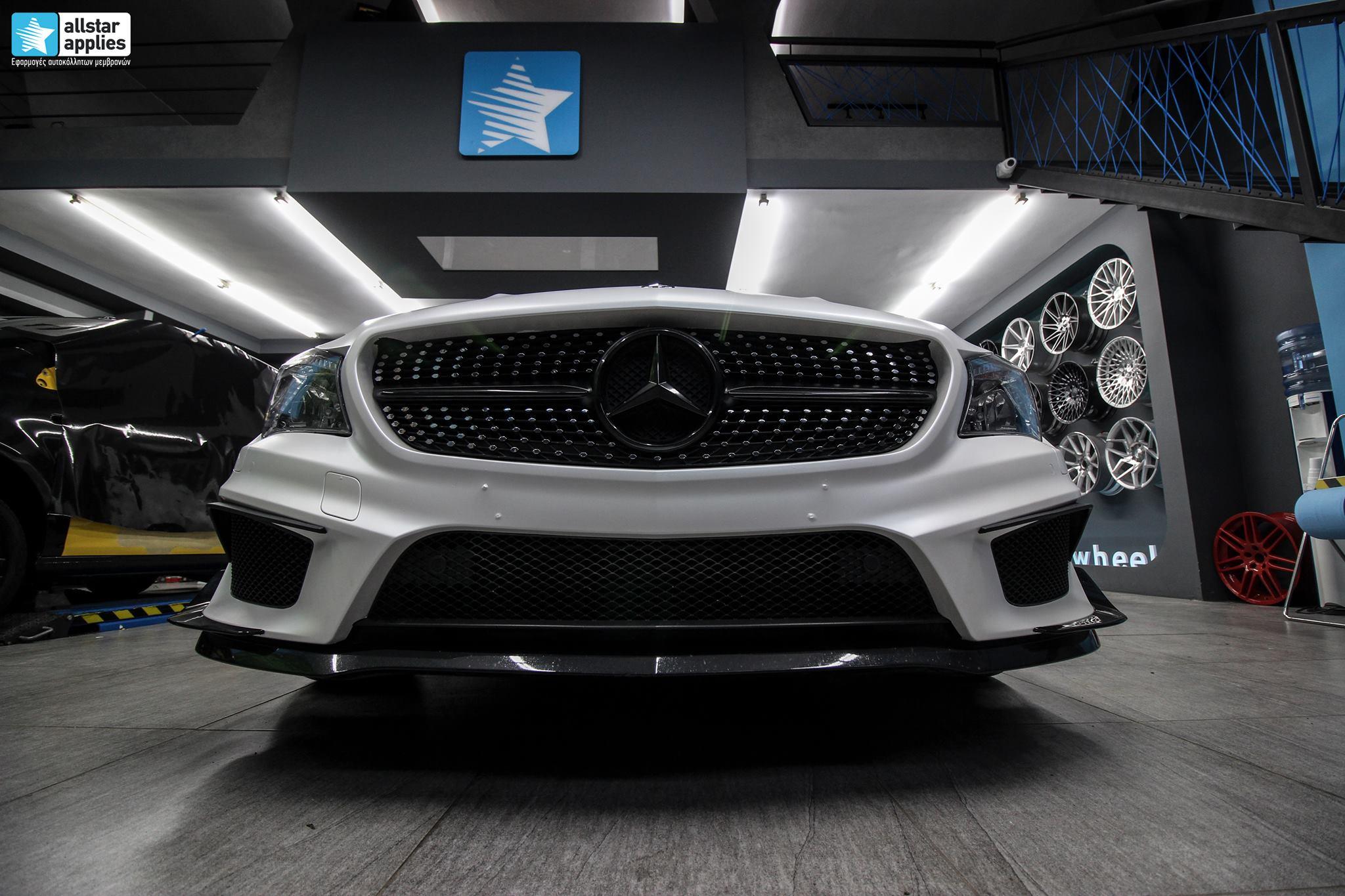 Mercedes CLA - Satin Pearl White (12)