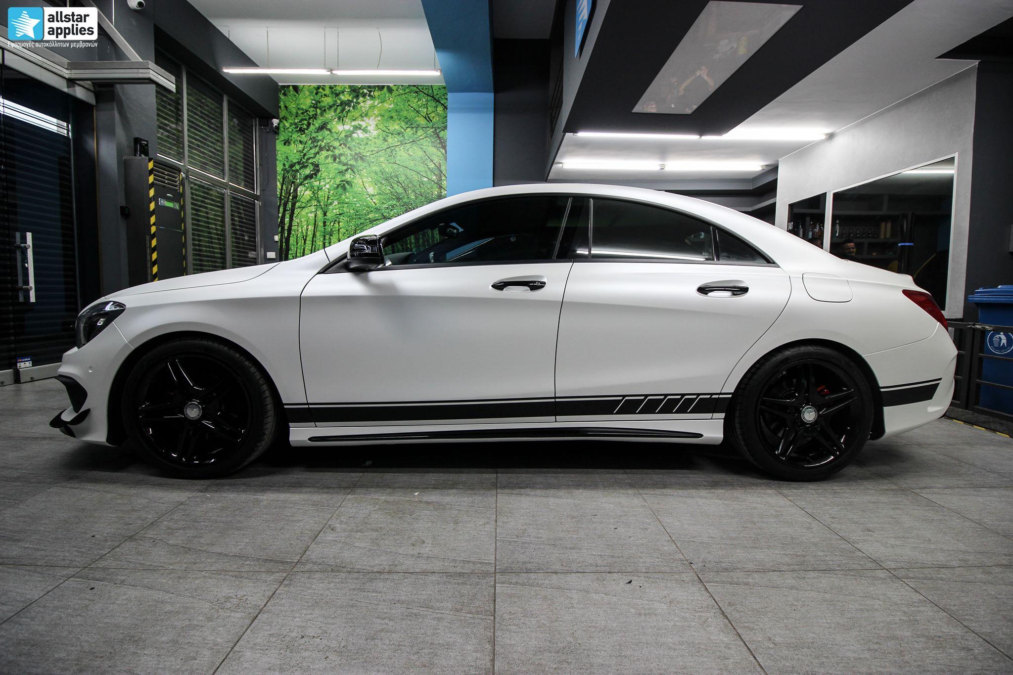 Mercedes CLA - Satin Pearl White (15)