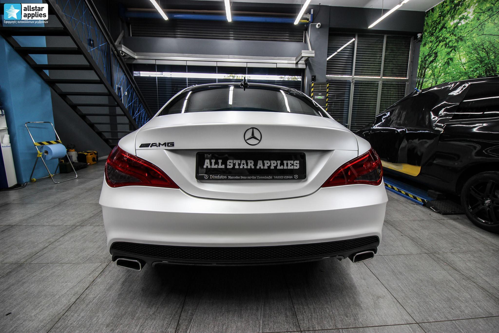 Mercedes CLA - Satin Pearl White (2)