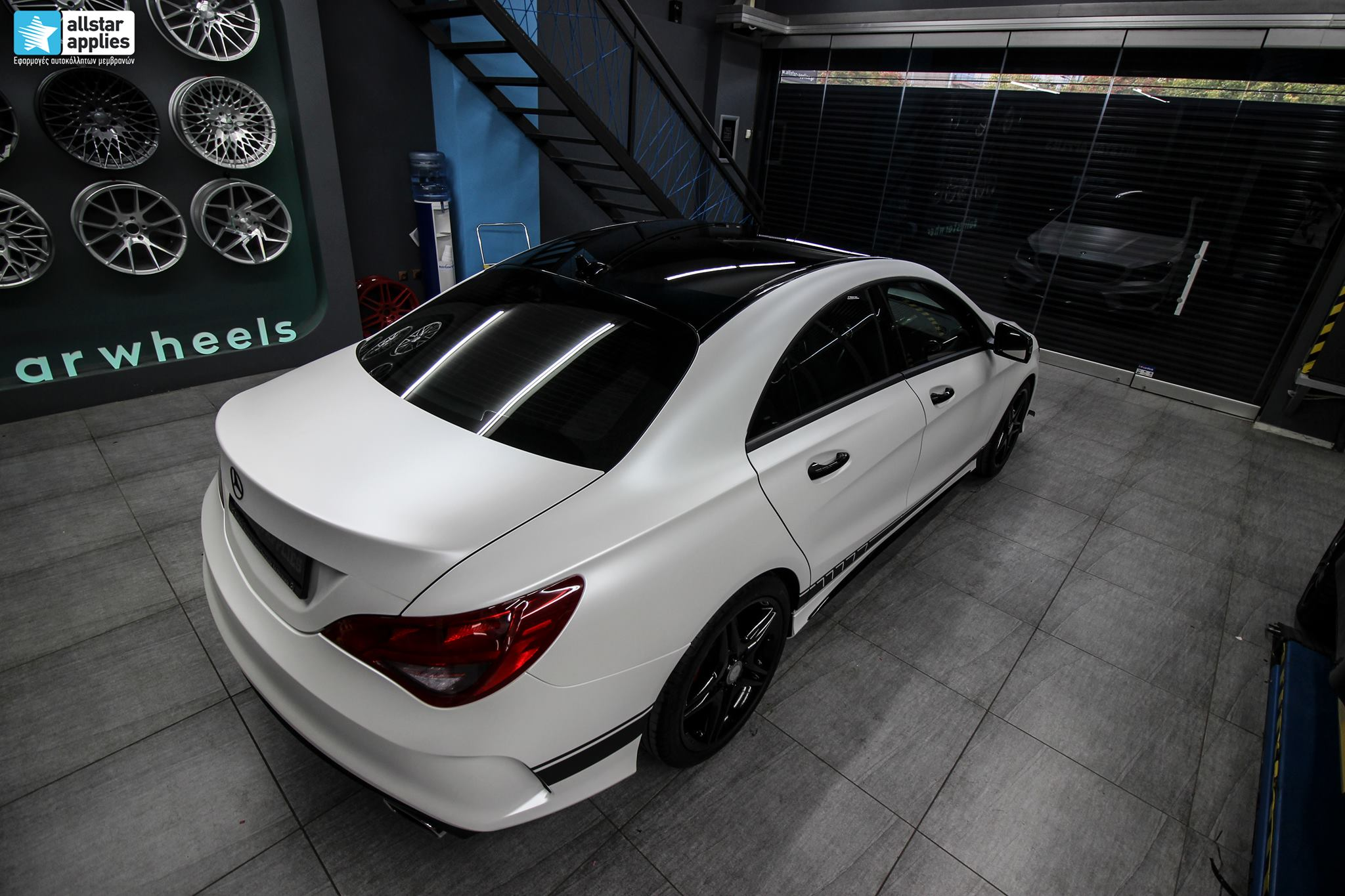 Mercedes CLA - Satin Pearl White (3)
