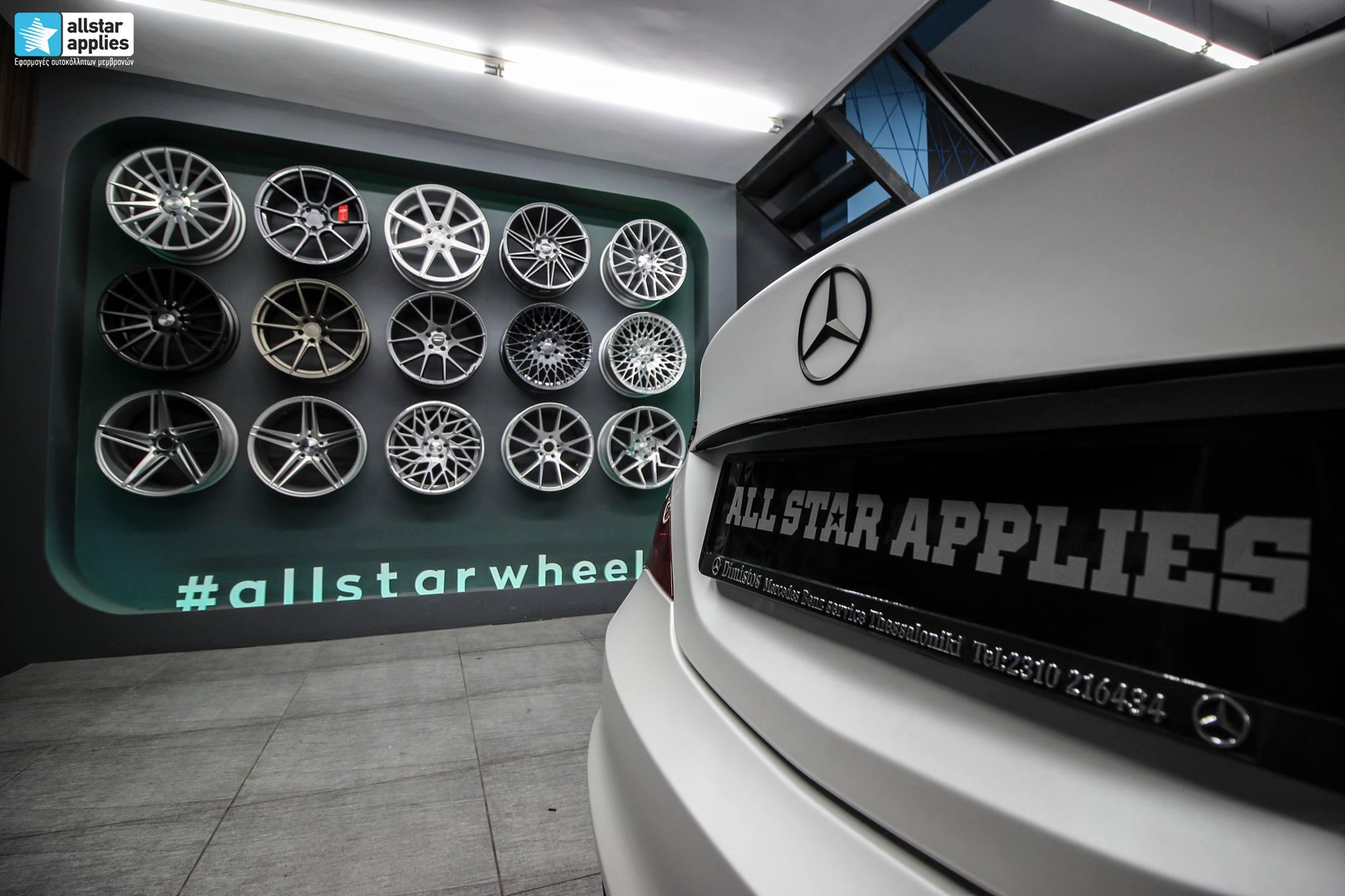 Mercedes CLA - Satin Pearl White (4)