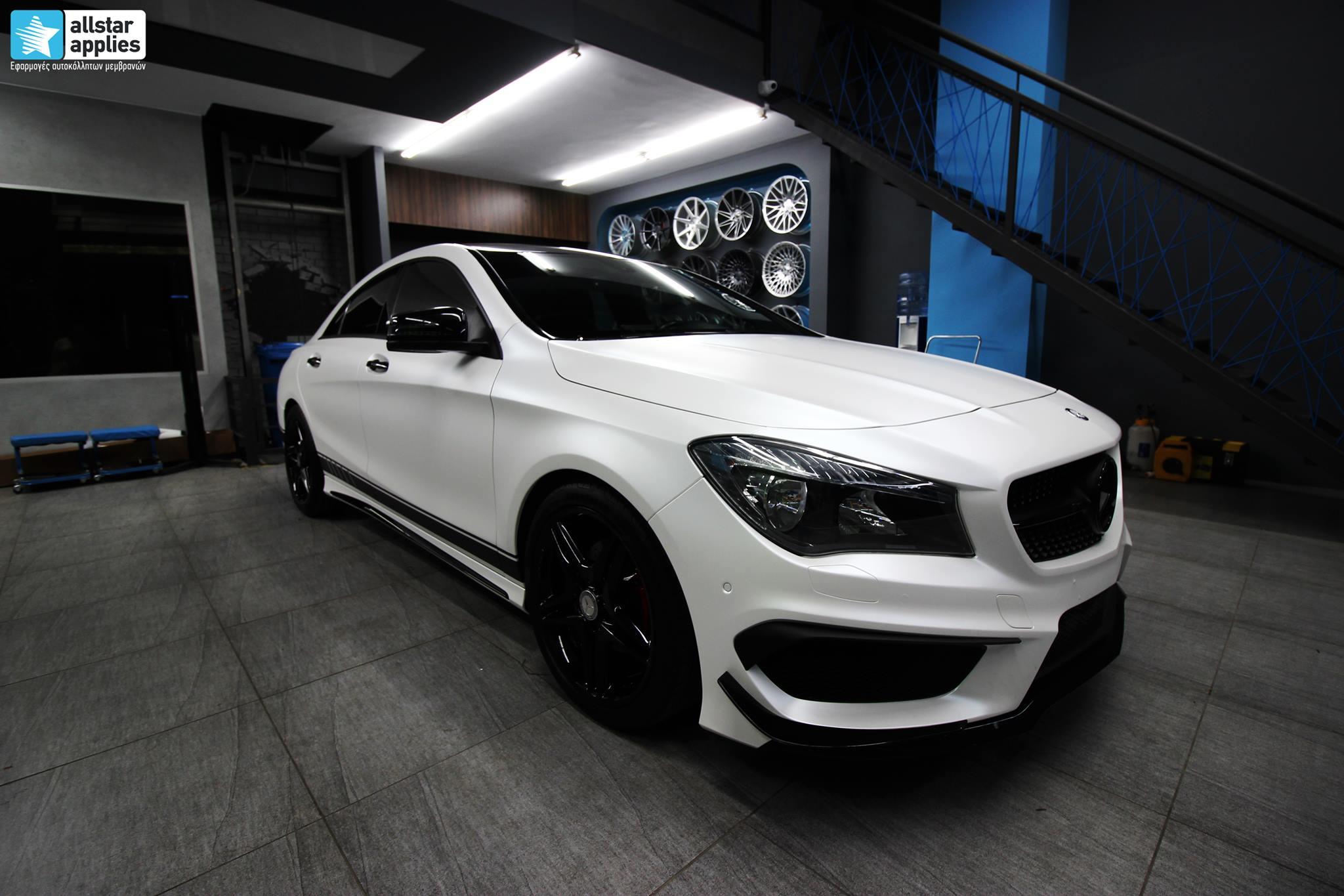 Mercedes CLA - Satin Pearl White (6)
