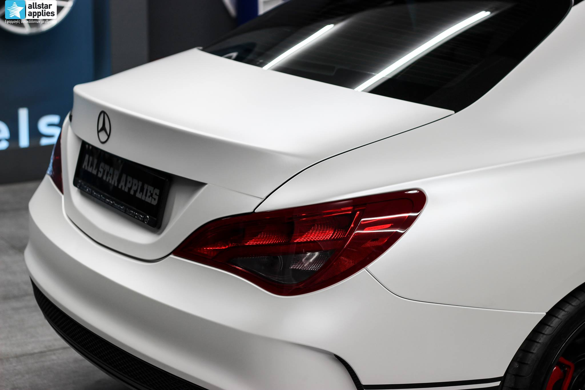 Mercedes CLA - Satin Pearl White (7)