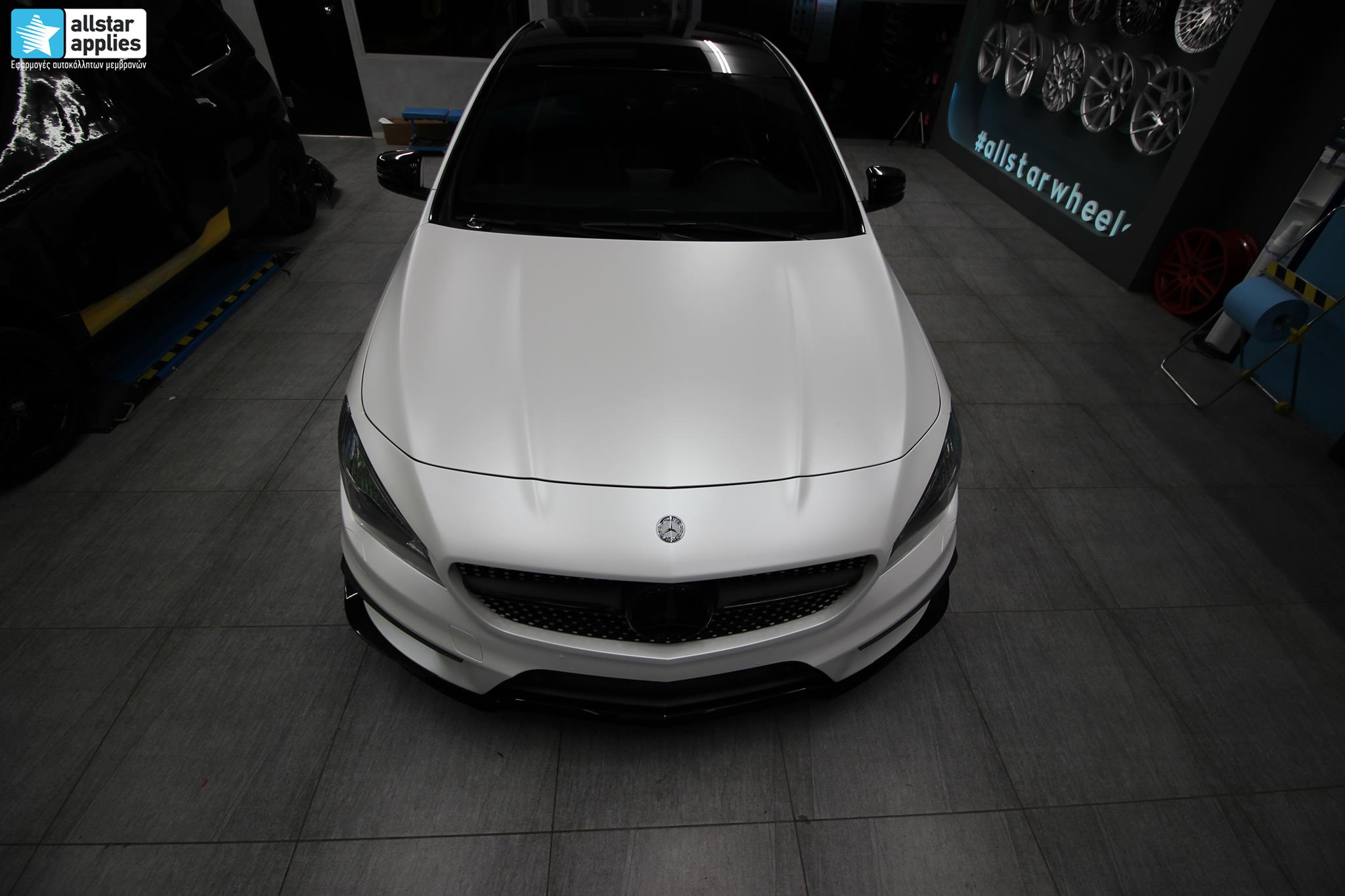 Mercedes CLA - Satin Pearl White (8)