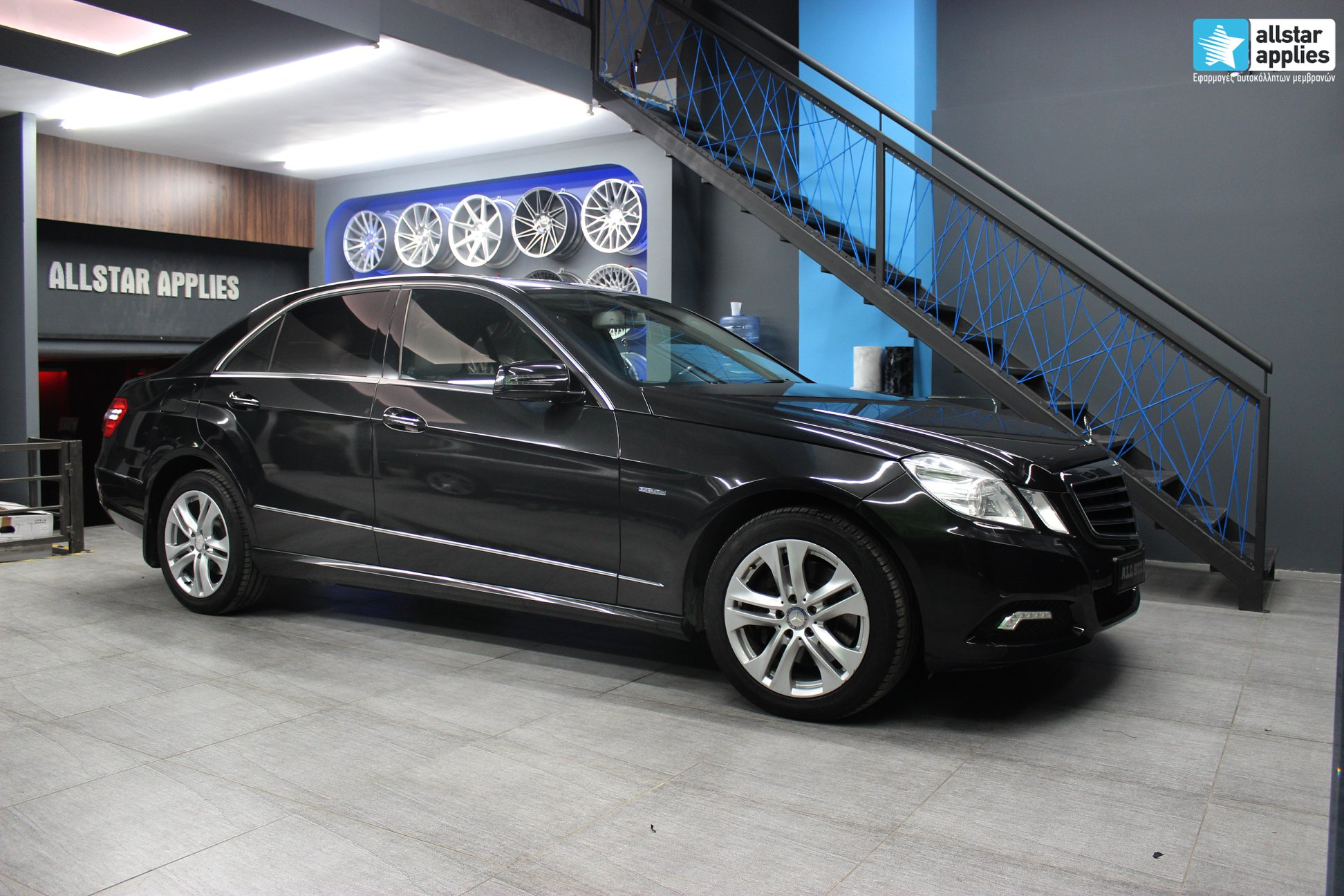 Mercedes E250 - Black Metallic (1)