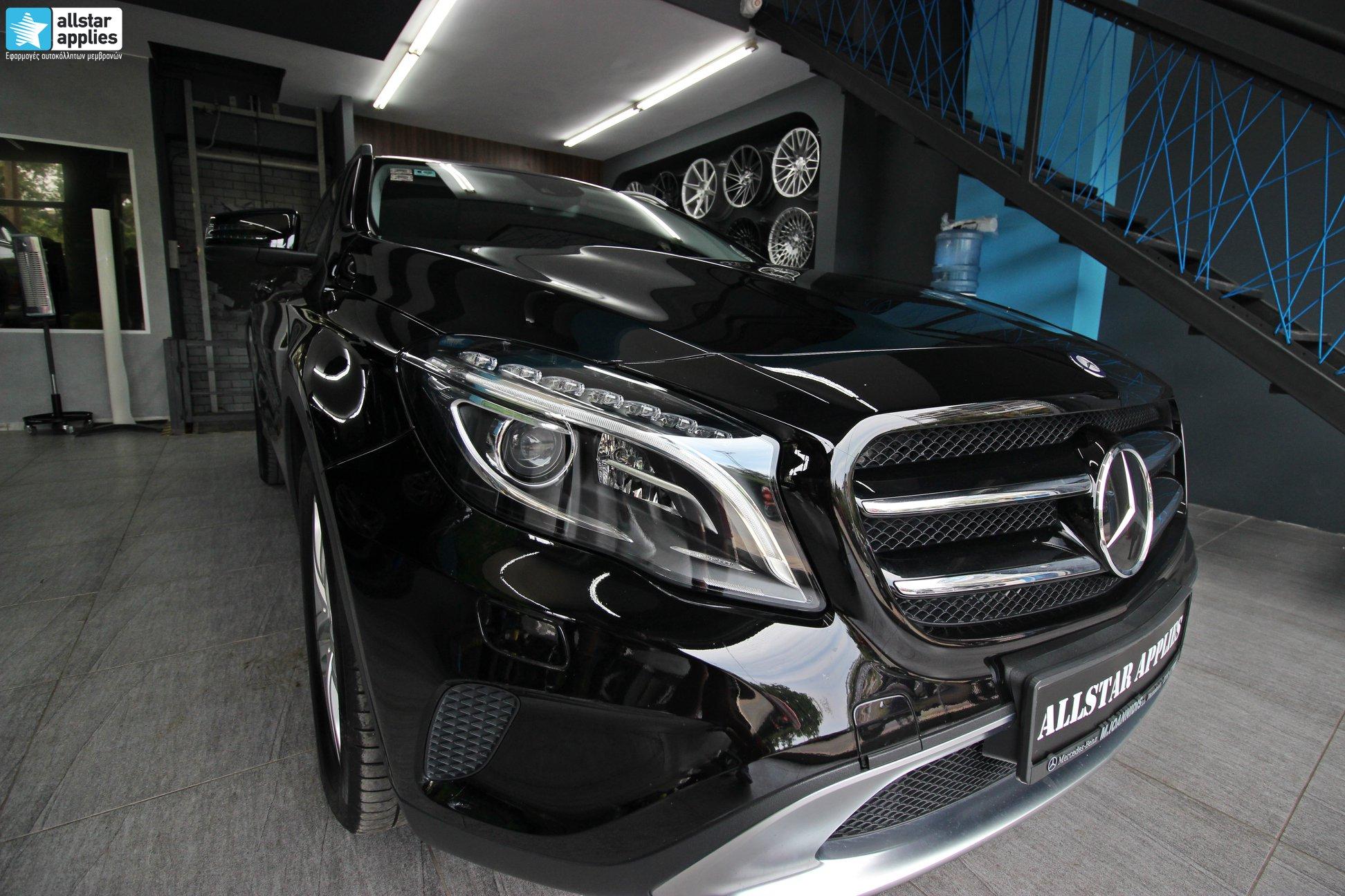 Mercedes GLA – Μεμβράνες Προστασίας χρώματος (Paint Protection Film) (10)