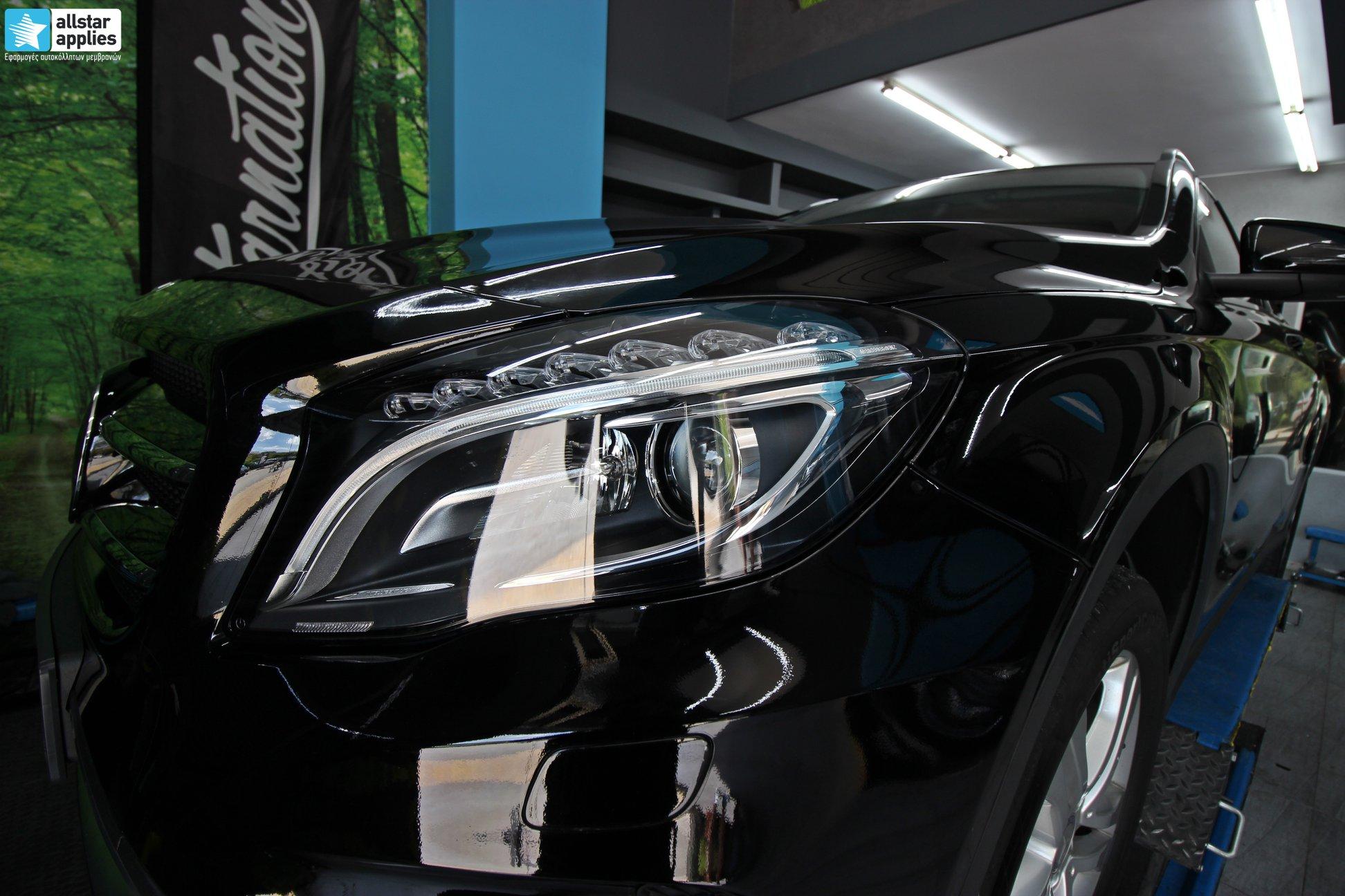 Mercedes GLA – Μεμβράνες Προστασίας χρώματος (Paint Protection Film) (6)