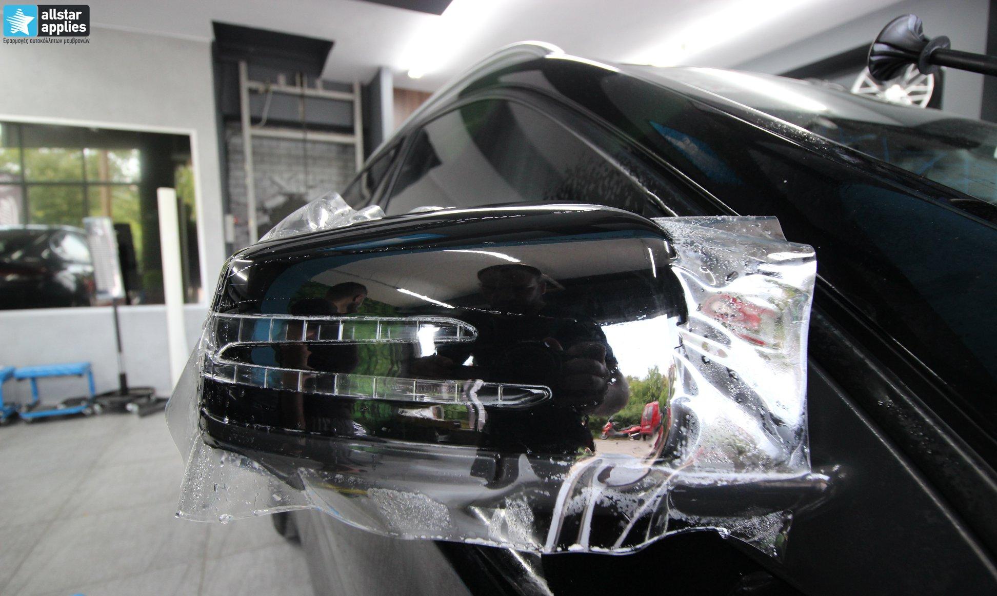 Mercedes GLA – Μεμβράνες Προστασίας χρώματος (Paint Protection Film) (7)
