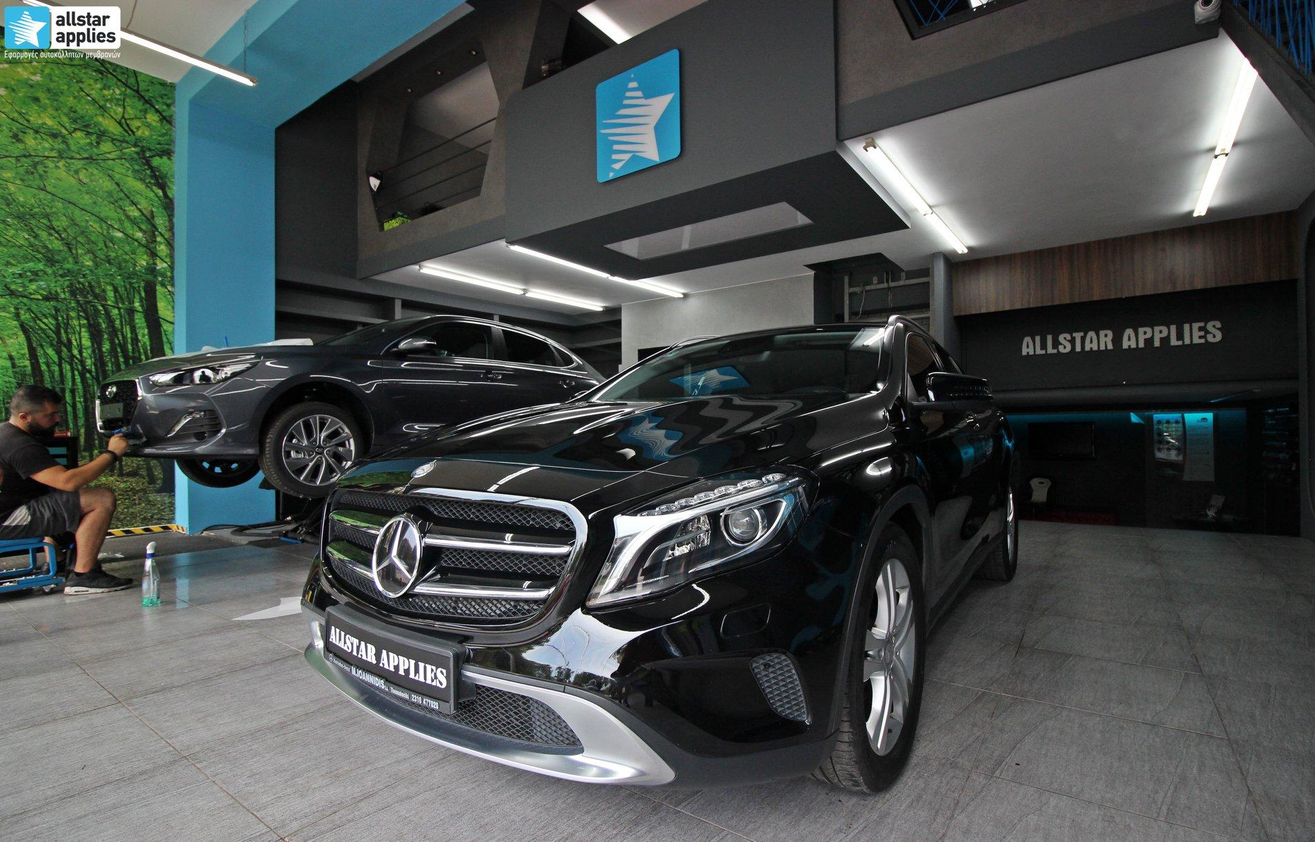 Mercedes GLA – Μεμβράνες Προστασίας χρώματος (Paint Protection Film) (9)