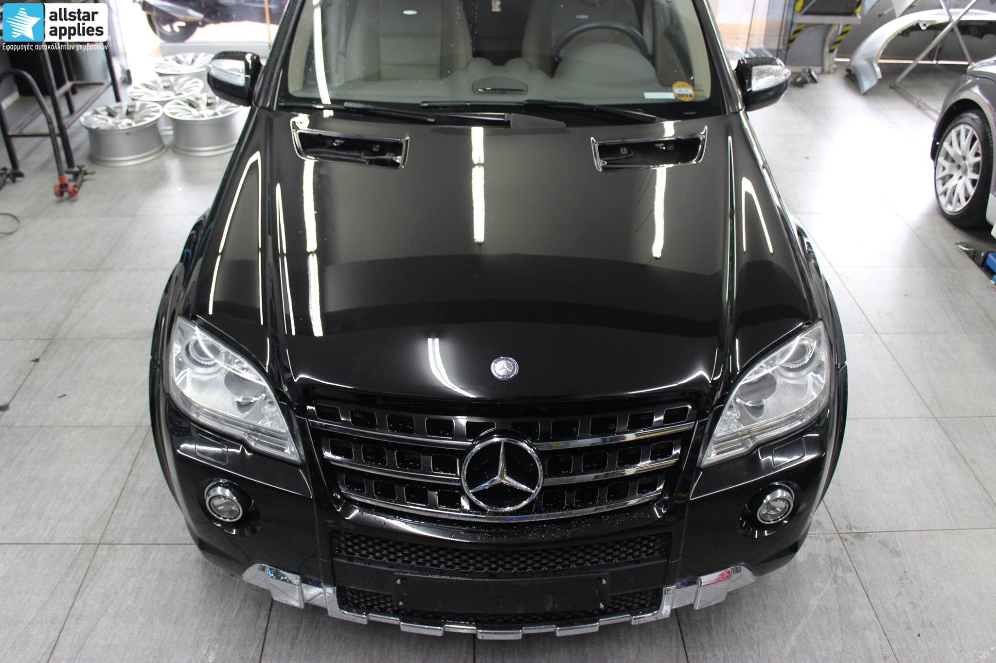 Mercedes ML – Paint Protection Film (1)